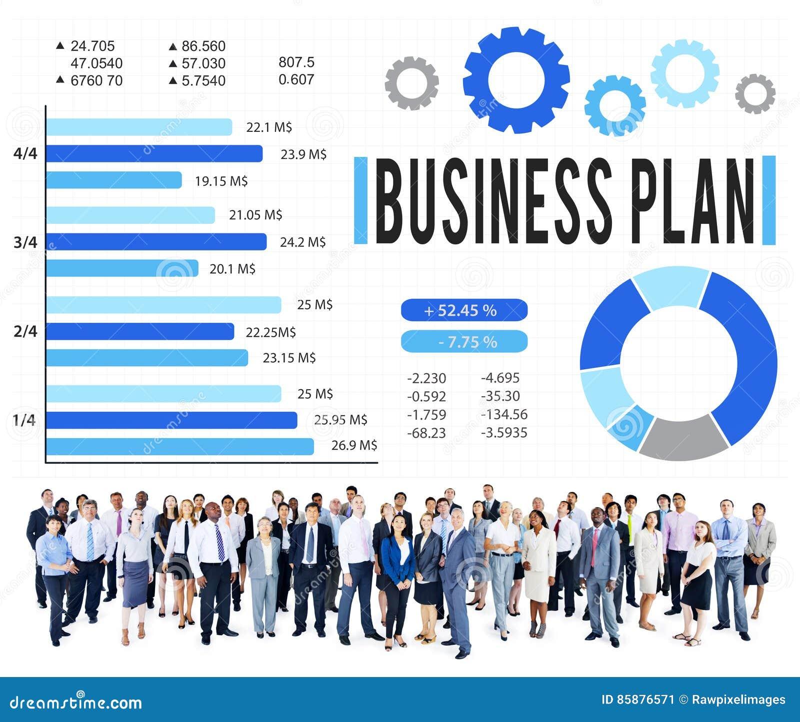 Концепция зрения планирования стратегии бизнес-плана