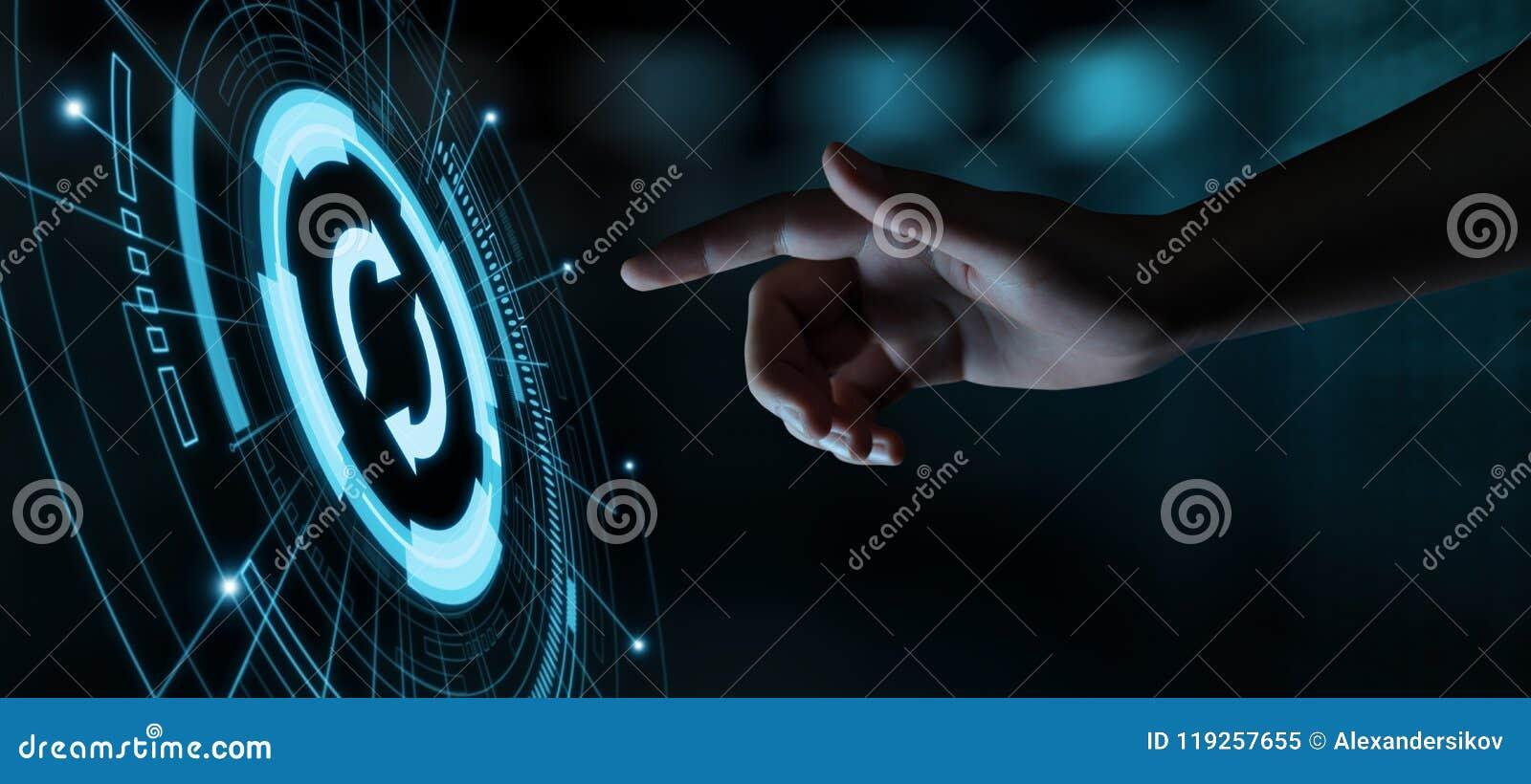 Концепция интернета технологии дела подъема компьутерной программы программного обеспечения обновления