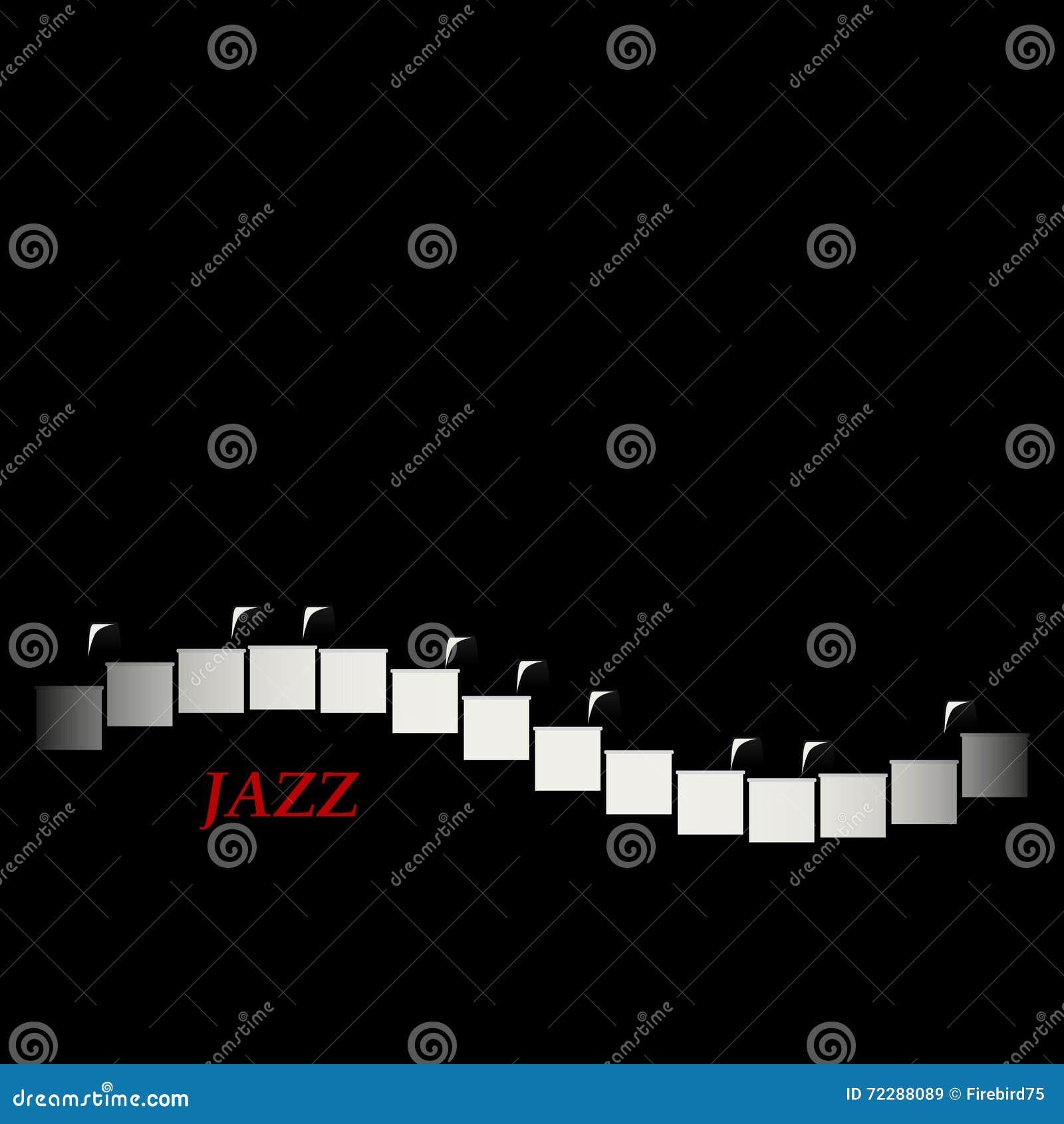 Download Концепция кафа джаза абстрактный рояль клавиатуры Музыкальное творческое приглашение Иллюстрация вектора - иллюстрации насчитывающей ресторан, звук: 72288089
