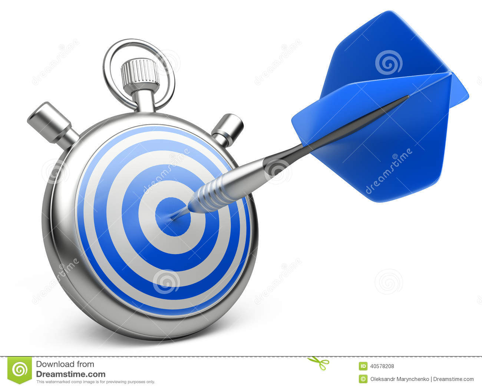 Концепция маркетинговой стратегии дротик ударяя центр цели