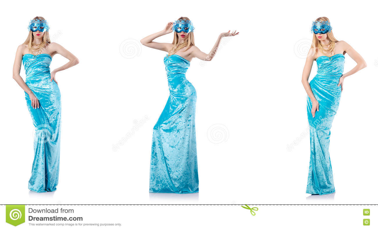 Концепция моды с высокорослой моделью на белизне