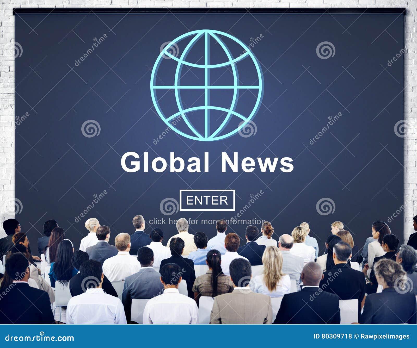 Концепция обновления технологии глобальных новостей онлайн