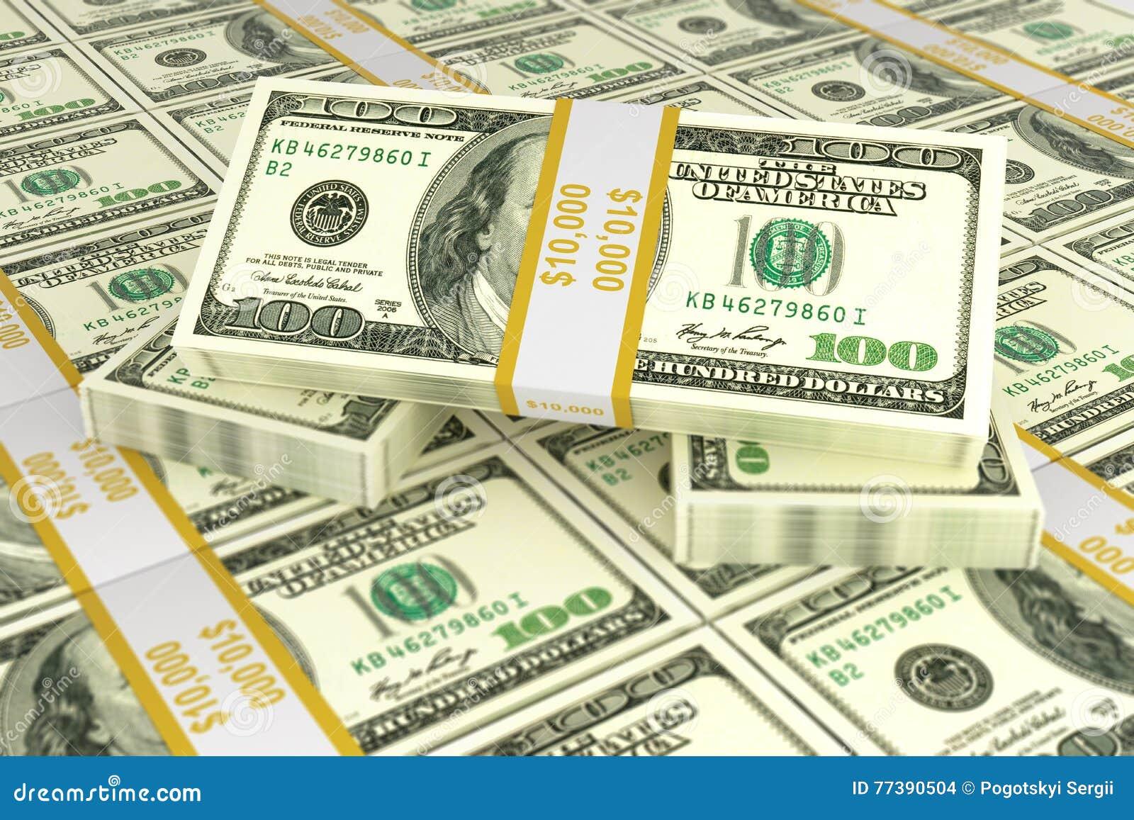 Концепция долларов для дела и торговли