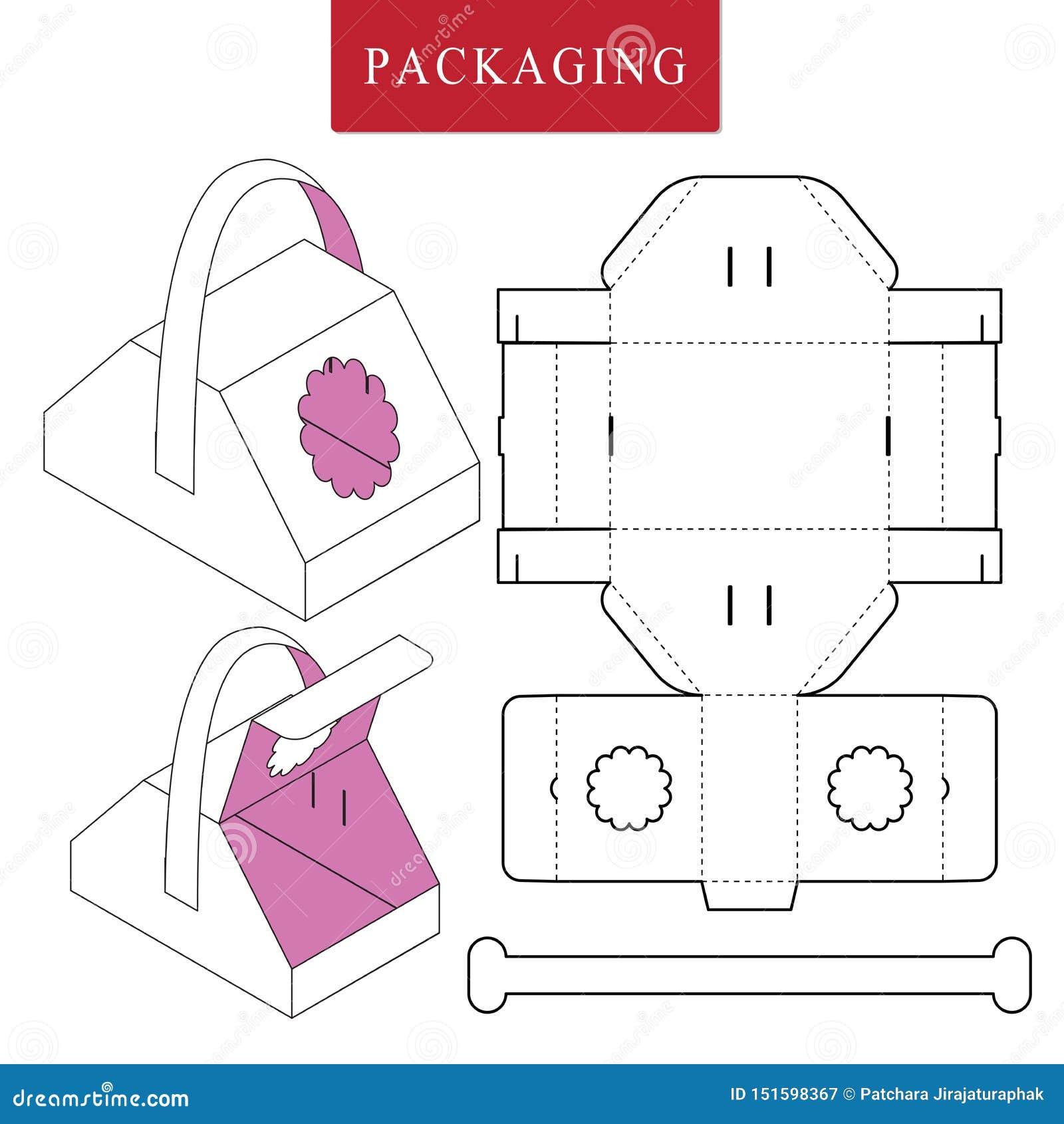 Концепция пикника шаблона пакета
