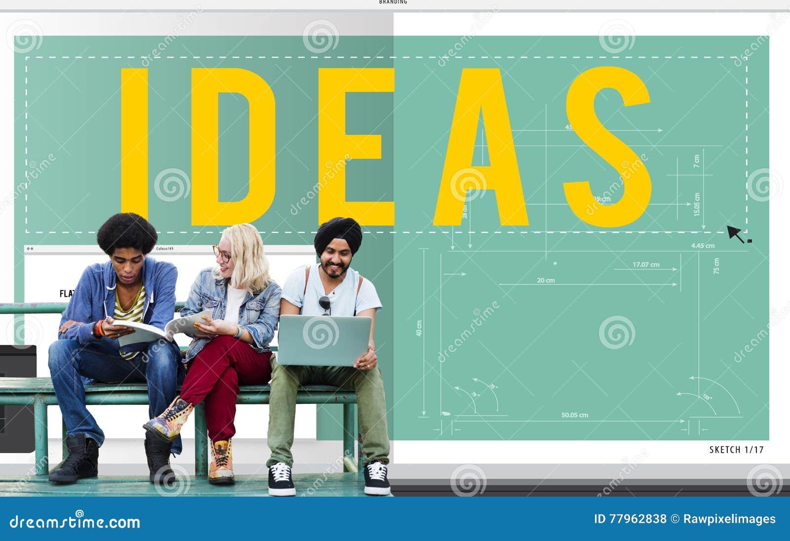 Концепция полета плана дизайна зрения идеи идей объективная
