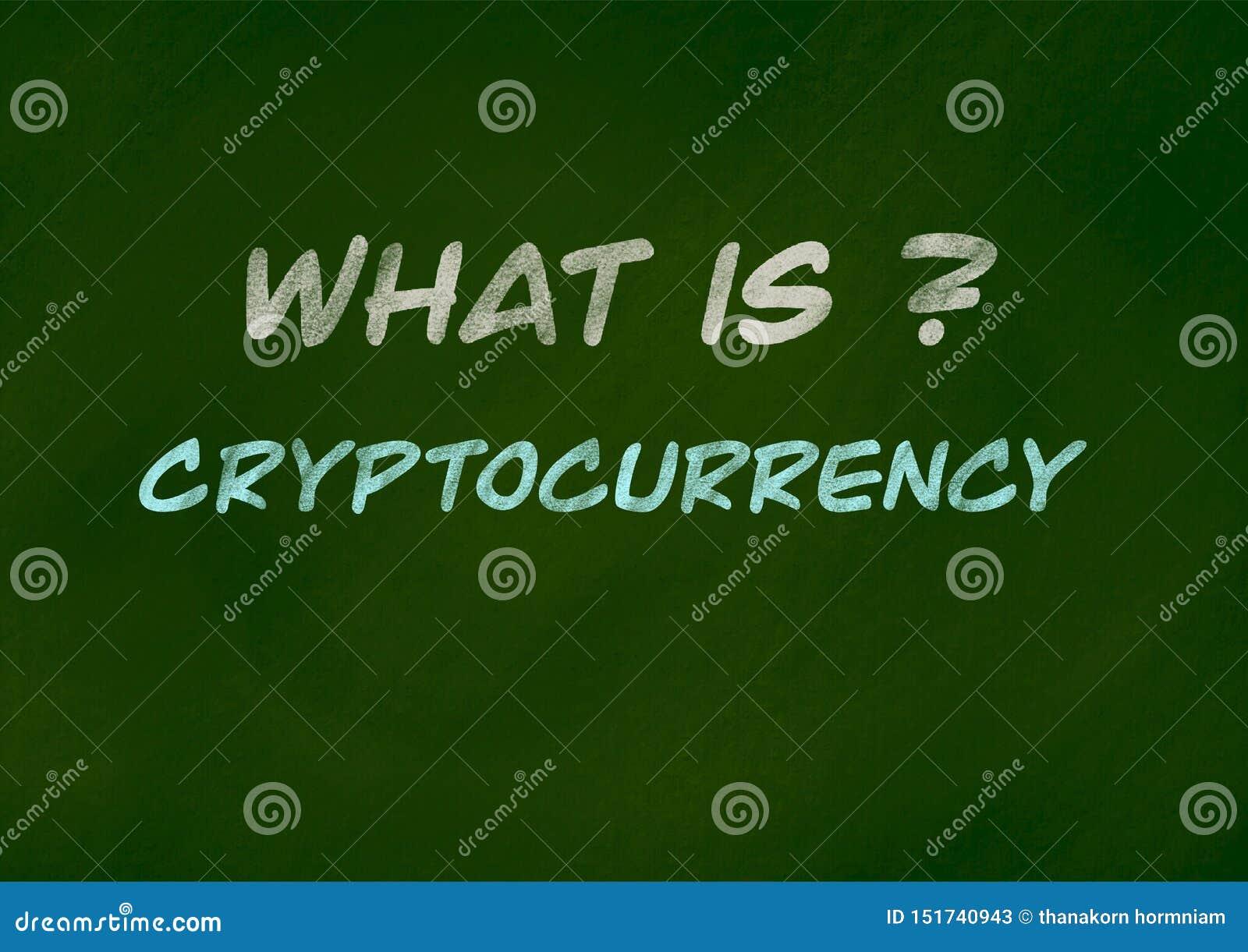 Концепция предпосылки Cryptocurrency