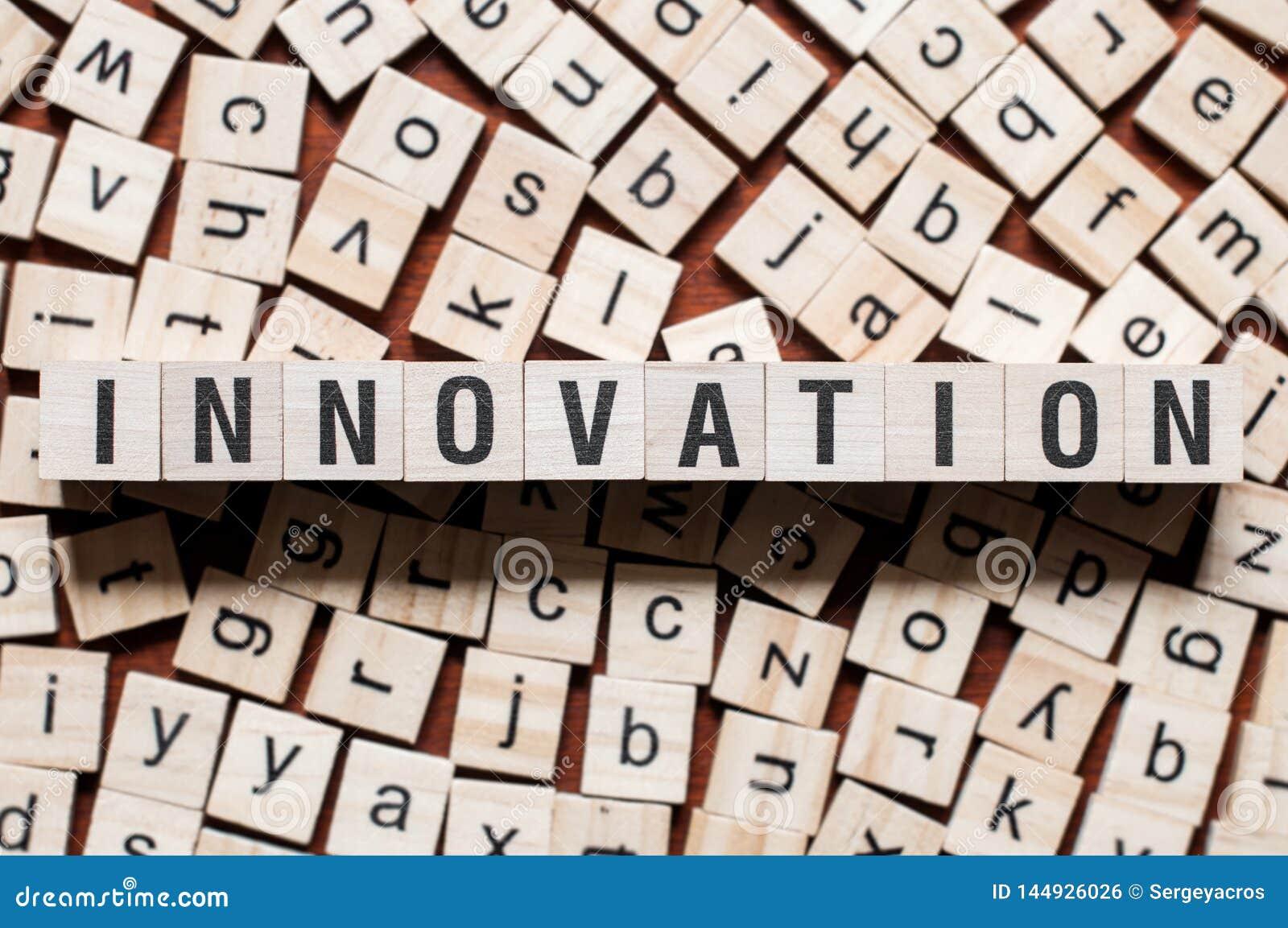 Концепция слова нововведения