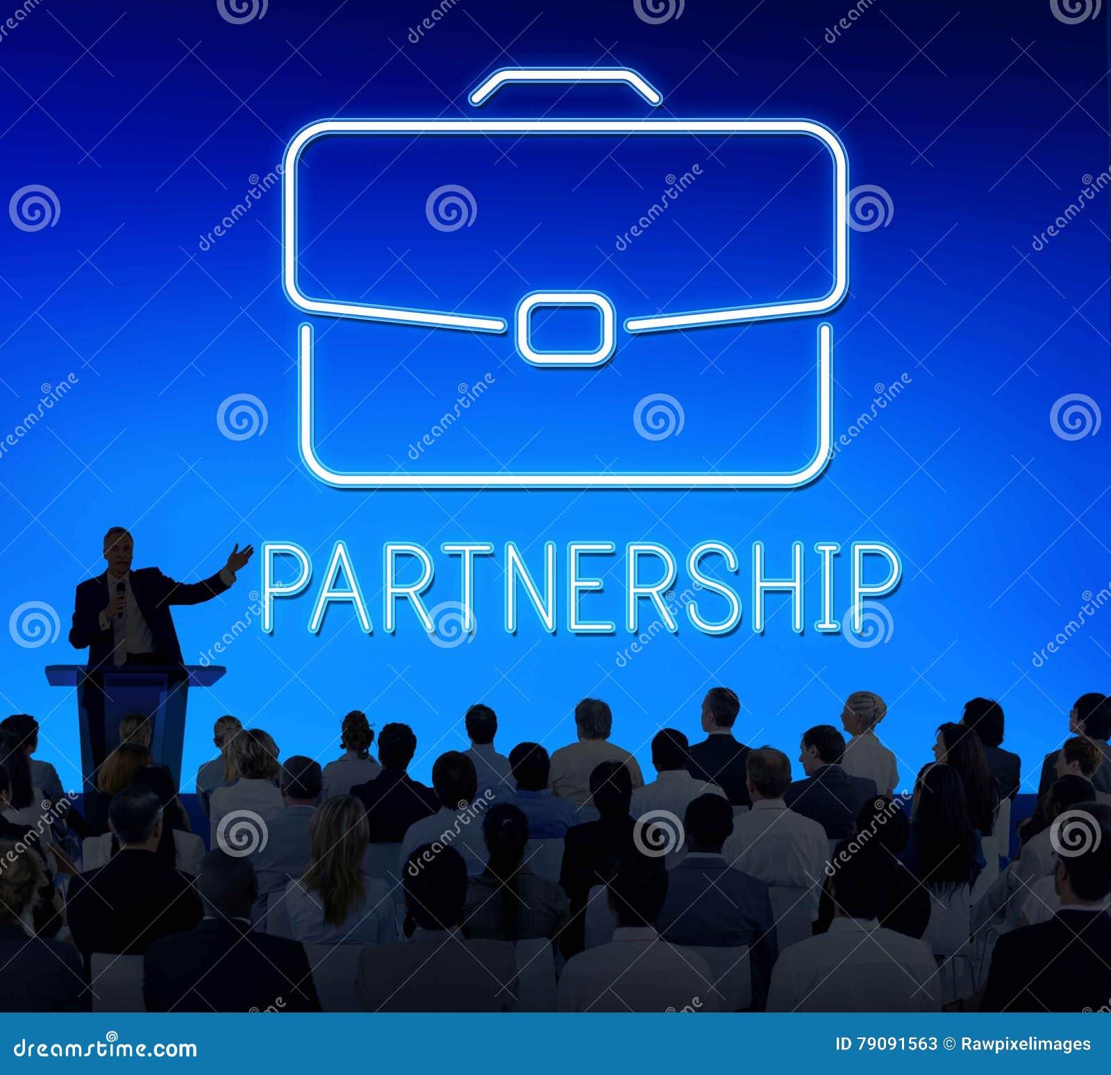 Концепция сотрудничества роста портфеля дела конфиденциальная
