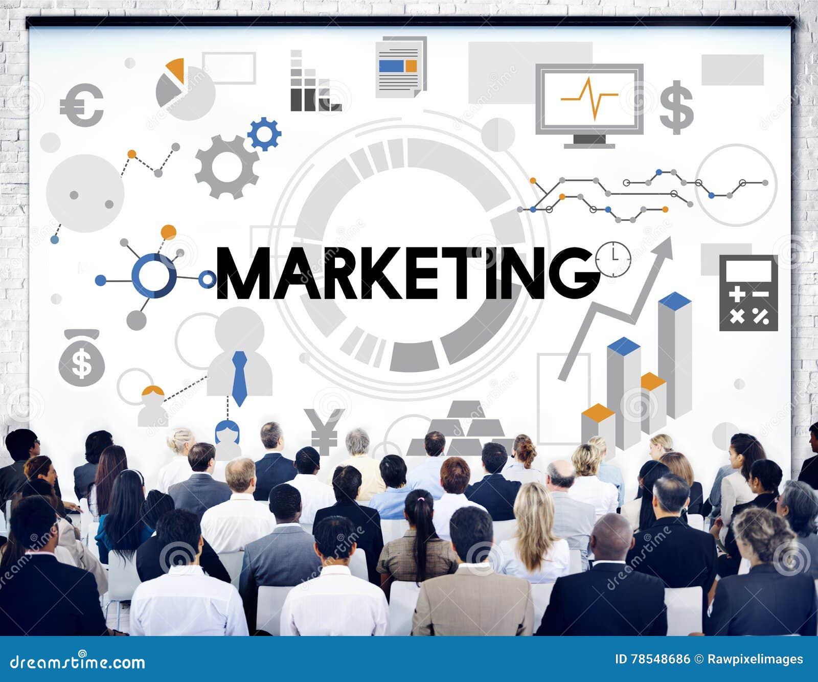 Концепция стратегии дела маркетинга коммерчески