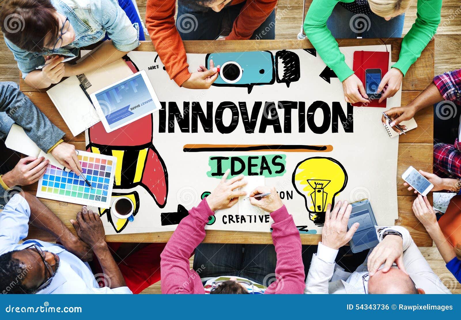 Концепция стратегии полета творческих способностей бизнес-плана нововведения