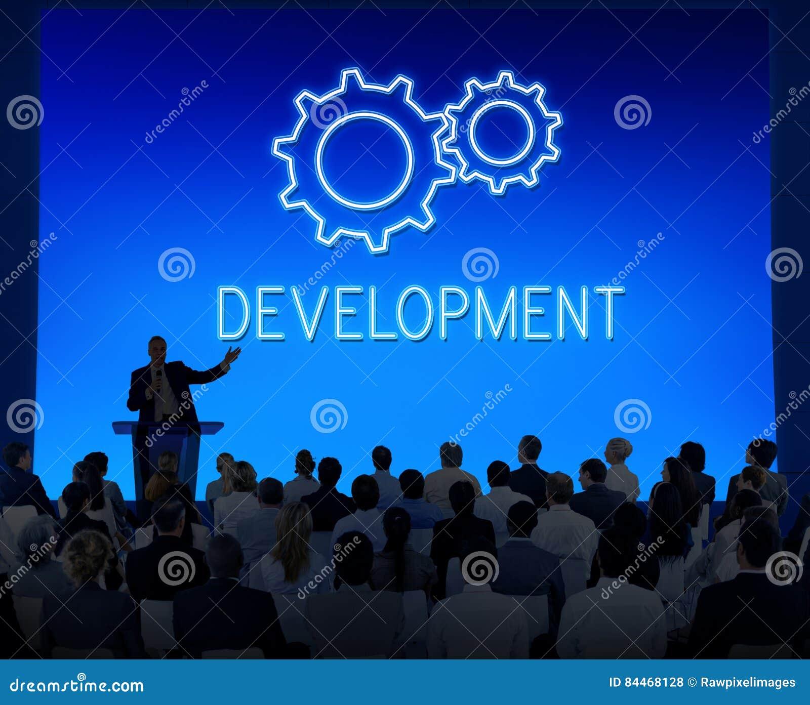 Концепция Cogwheel развития прогресса достижения дела