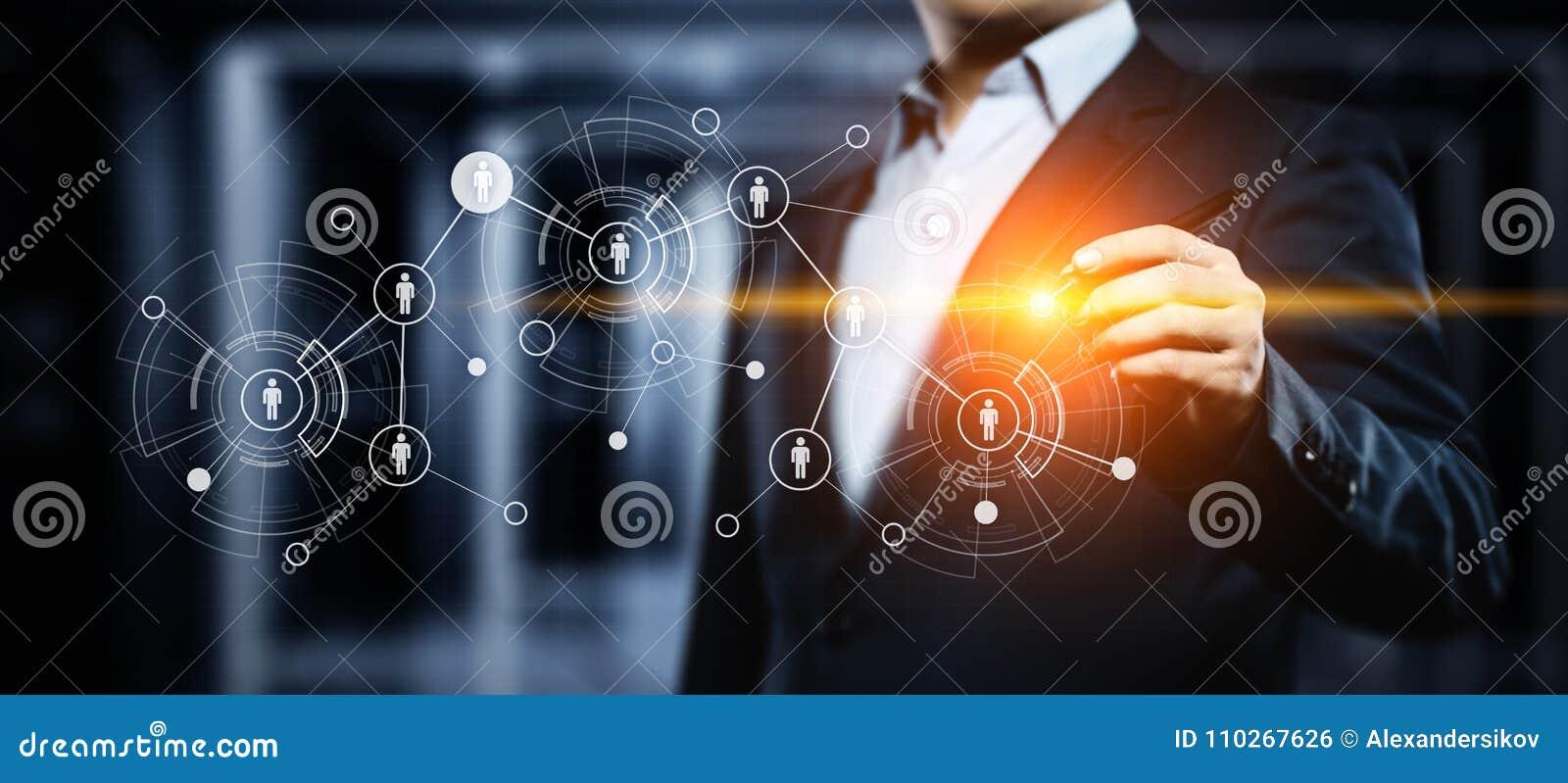 Концепция Headhunting занятости рекрутства управления HR человеческих ресурсов