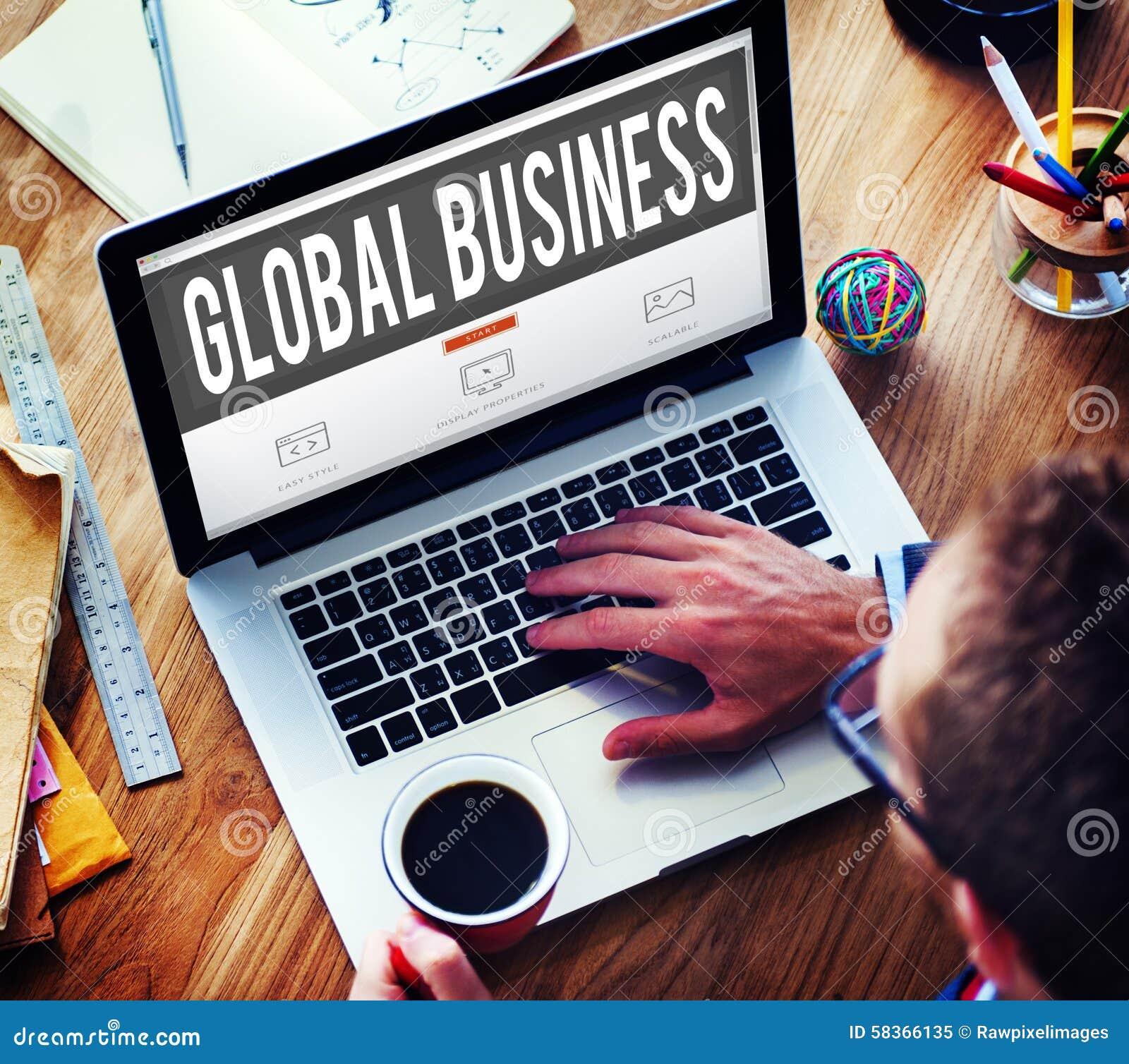 Концепция International возможности роста глобального бизнеса