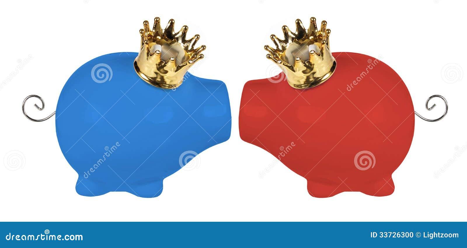 Копилки с кронами