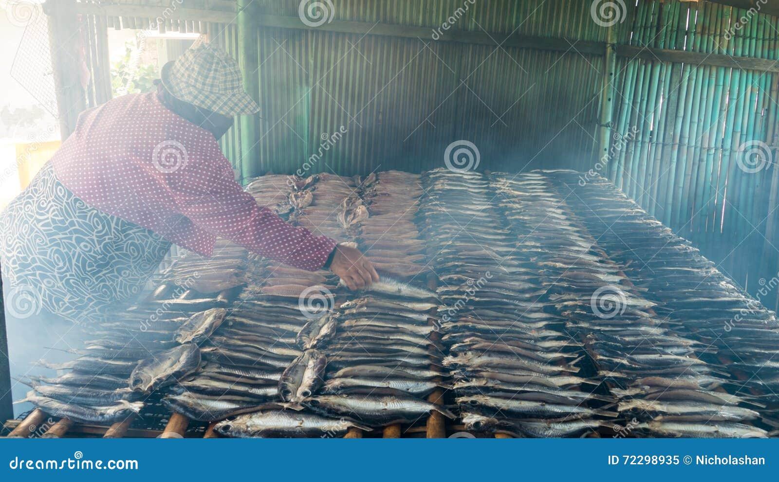 Download Копченые рыбы на плите в лете, Тайване Редакционное Изображение - изображение насчитывающей шпротины, seafood: 72298935