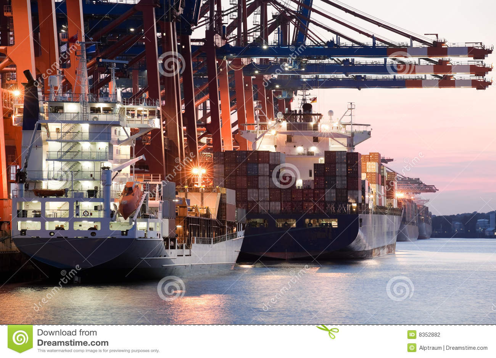 корабли гавани