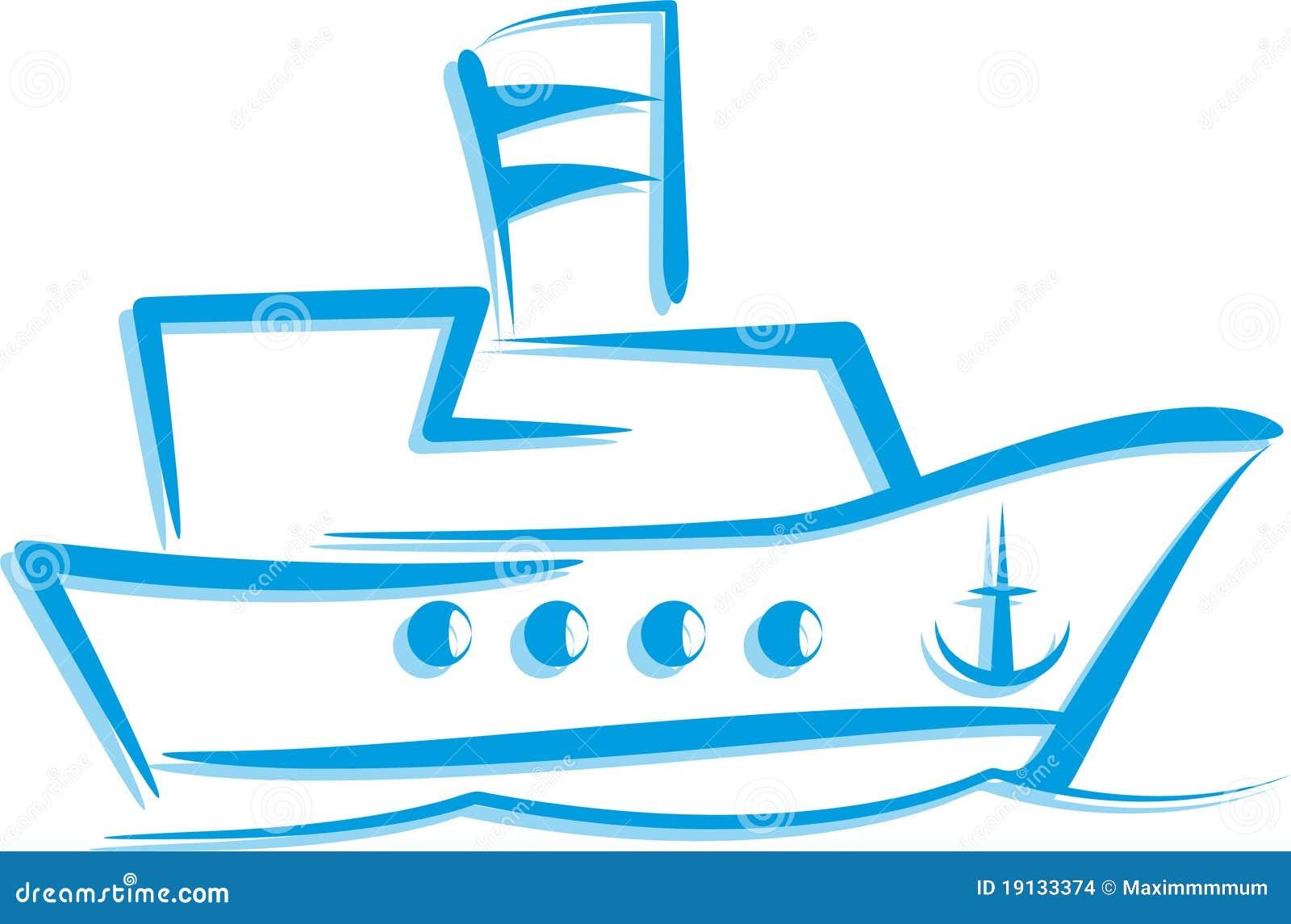 корабль иллюстрации