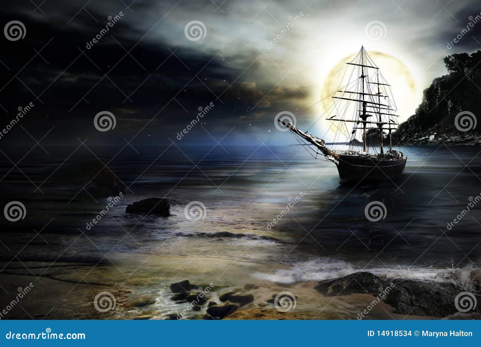корабль предпосылки сиротливый