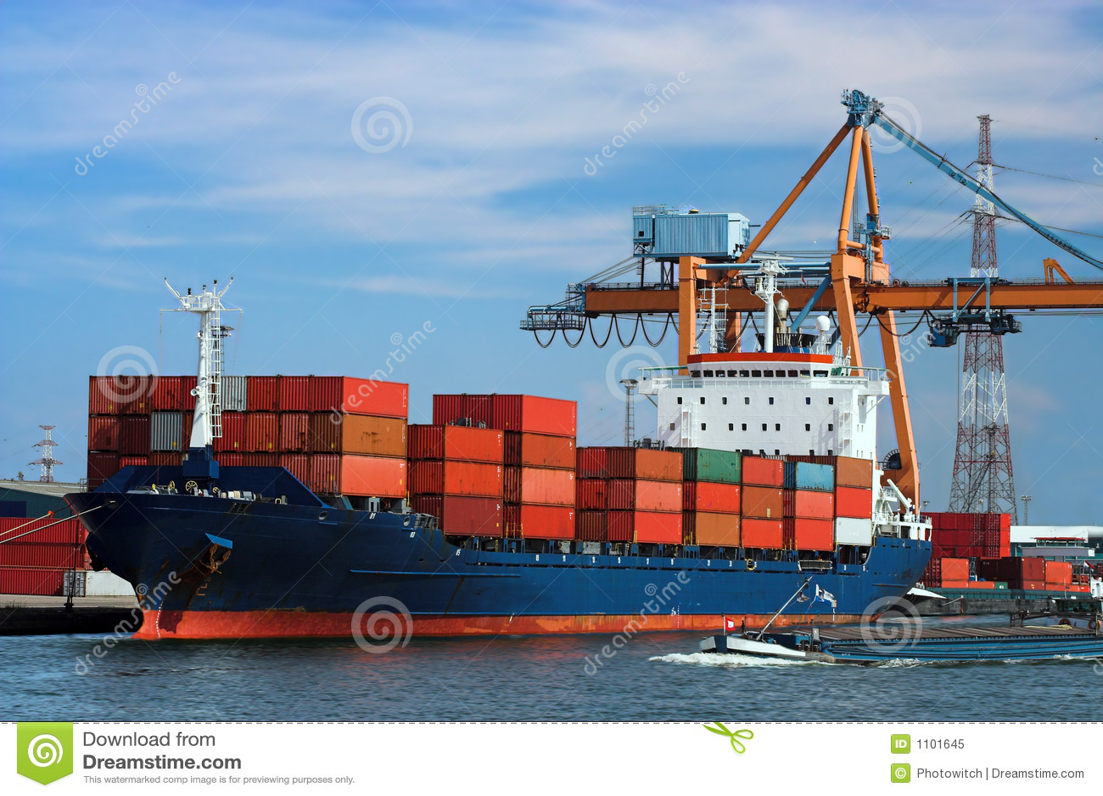 корабль состыкованный контейнером