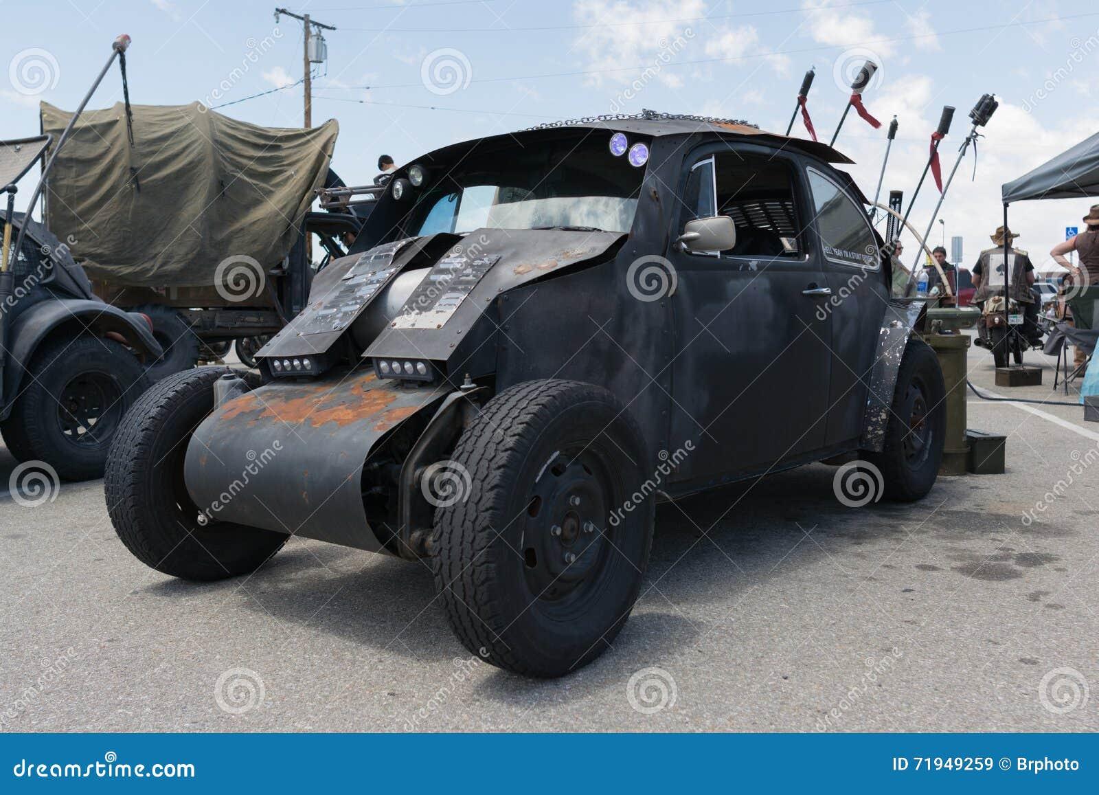 Корабль выживания Volkswagen Beetle пост-апоралипсический