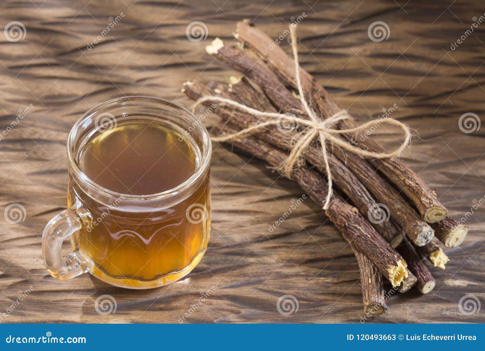 Корень солодки обладает много целебных свойствами и пособий по болезни - glabra Glycyrrhiza