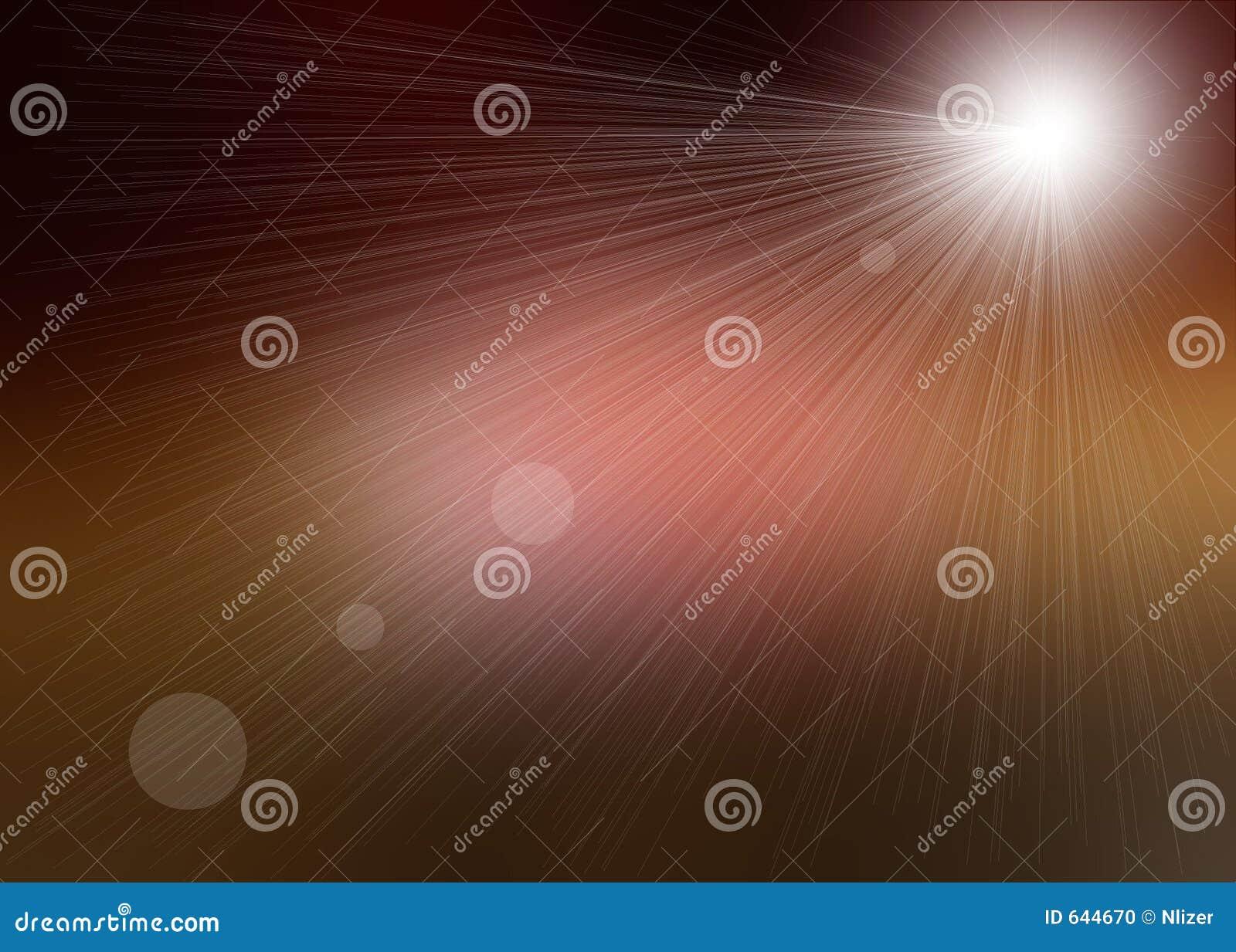 Download коричневый свет - розовые лучи Иллюстрация штока - иллюстрации насчитывающей запачканный, лучи: 644670
