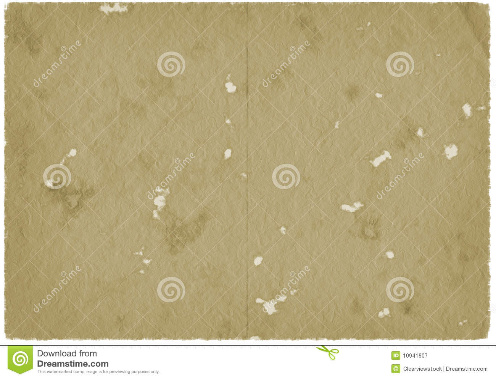 коричневый старый бумажный пергамент