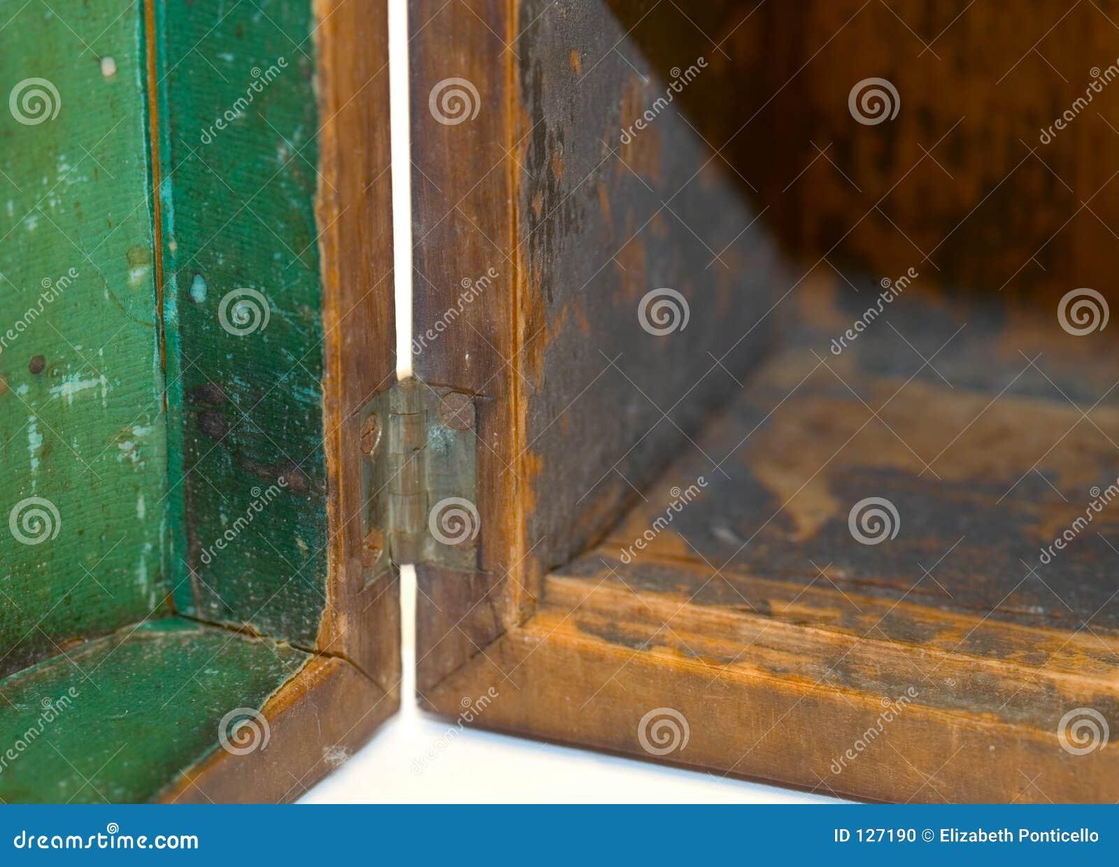 коробка открытая