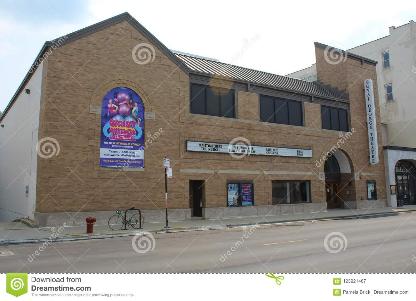 Королевский театр Чикаго Джордж