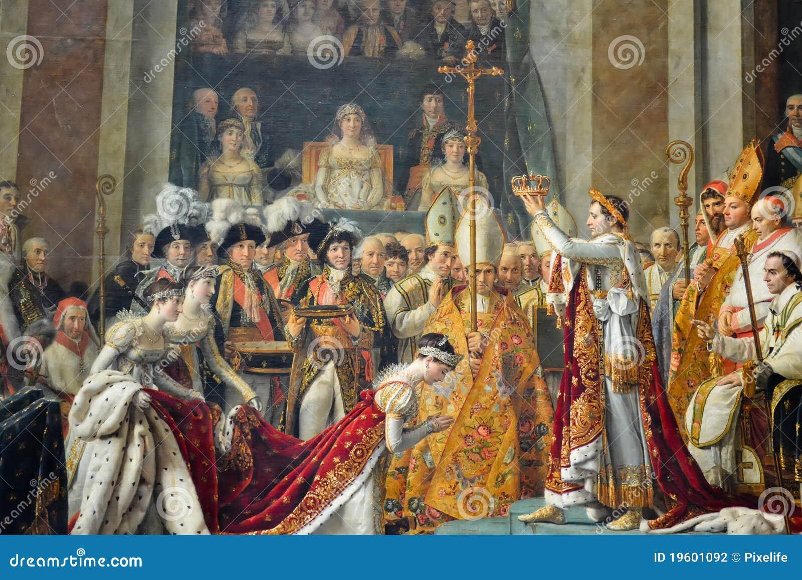 коронование napoleon