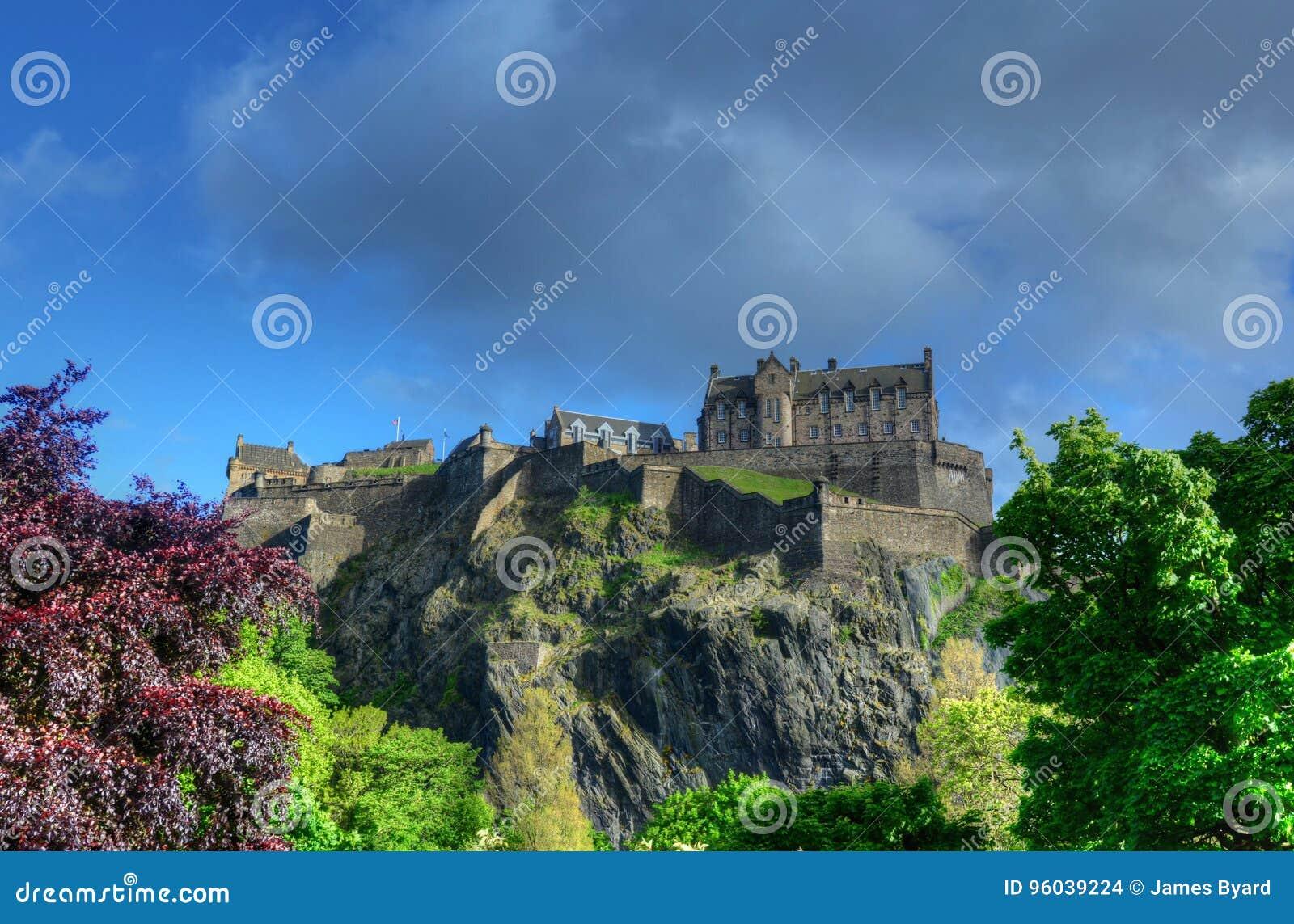 королевство соединенная Шотландия edinburgh замока