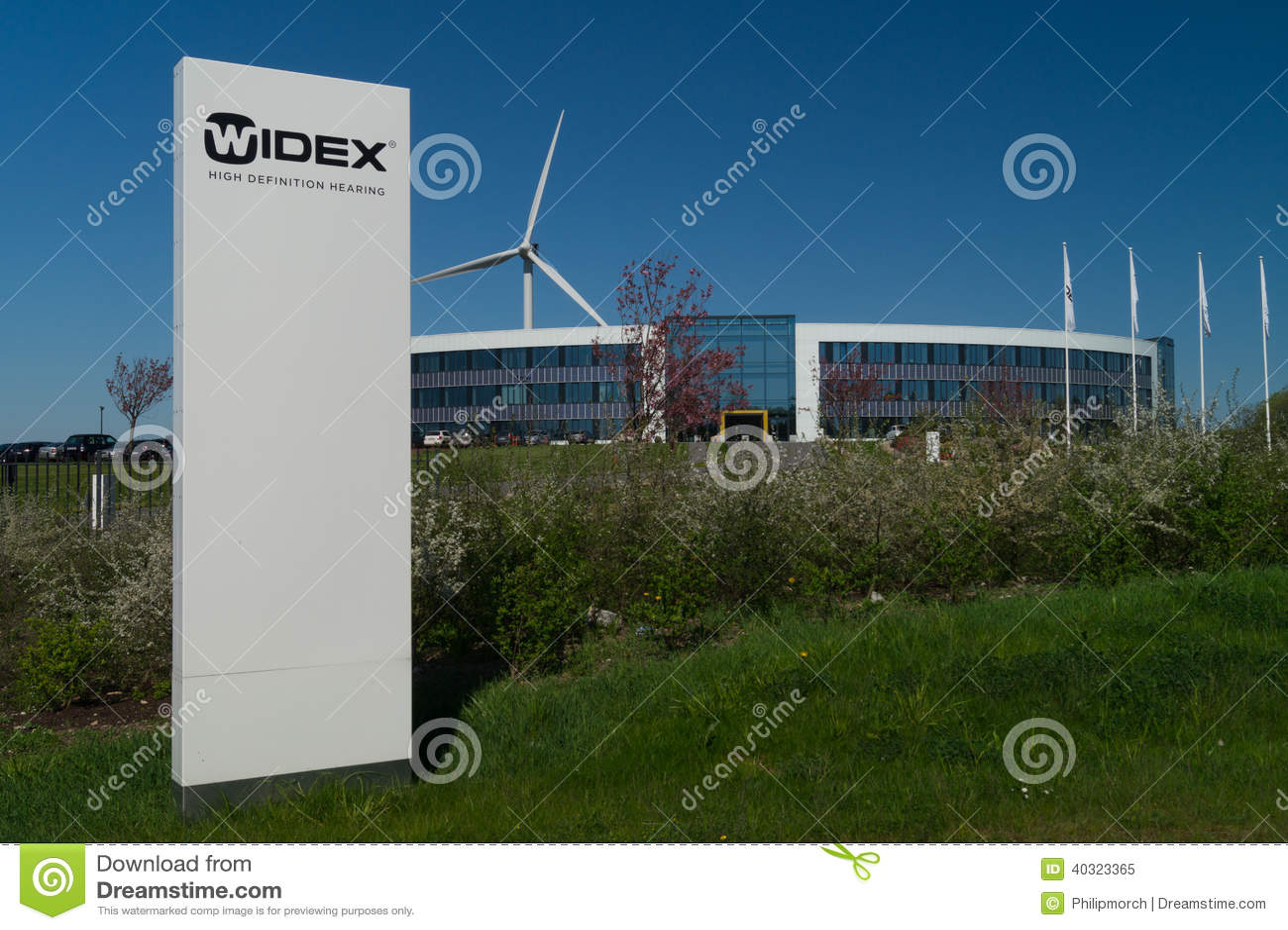 Корпоративные штабы Widex