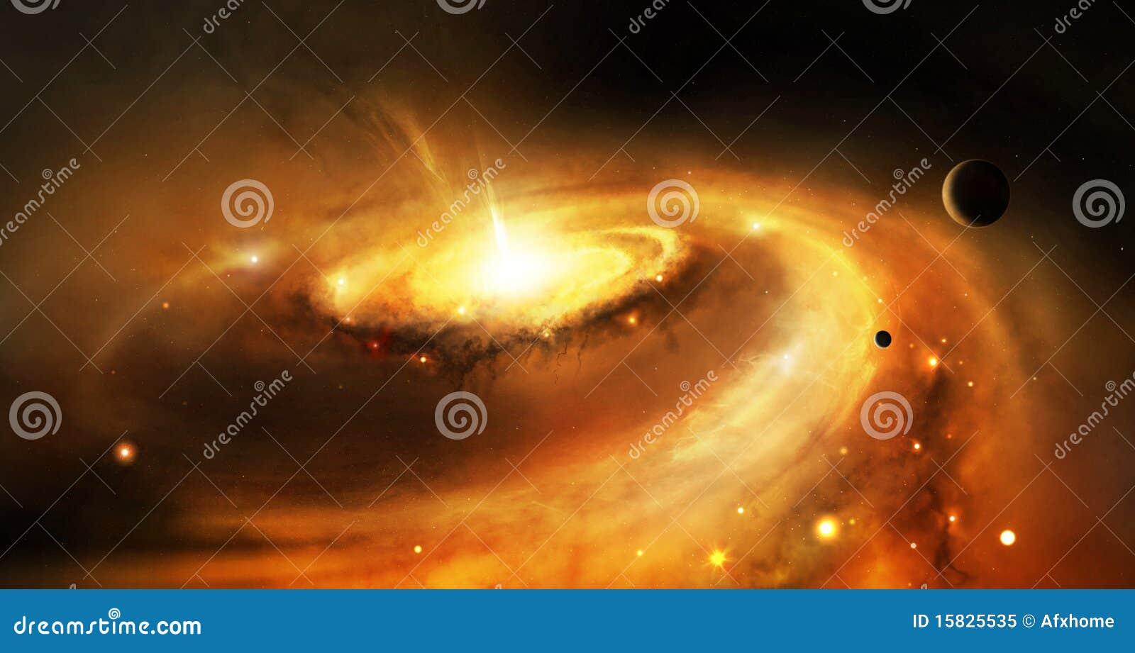 космос галактики сердечника