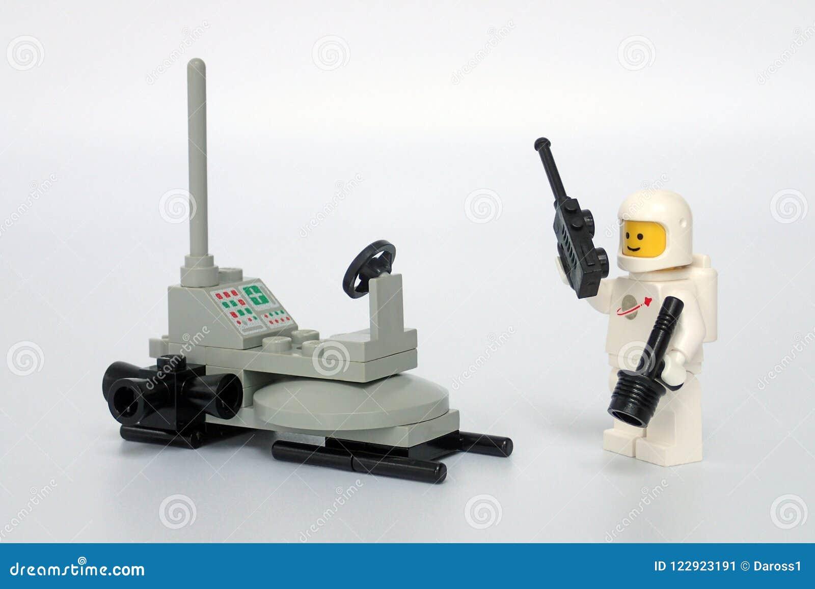 Космос Lego классический не установил никакие 6801, багги луны