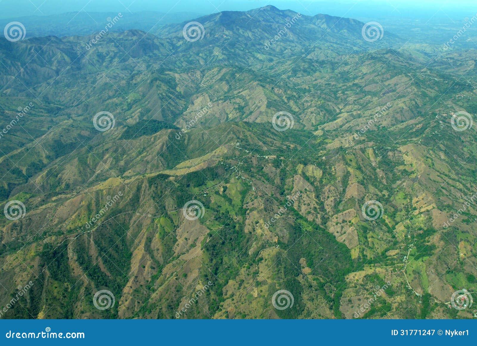Коста-Рика от воздуха