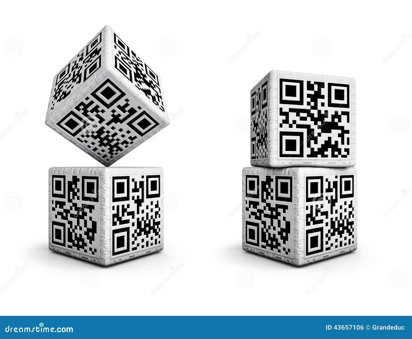 Кость кода QR
