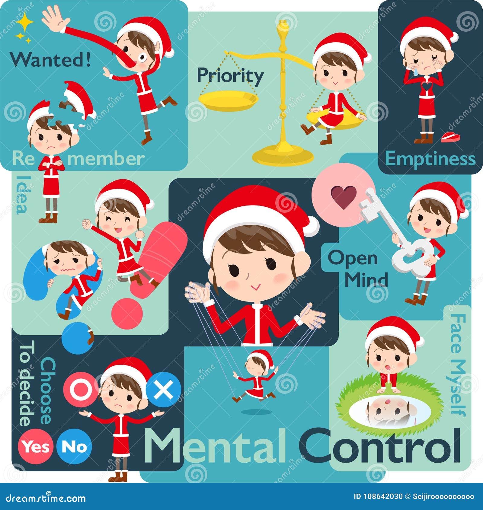Костюм Санта Клауса mom_Mental & volition