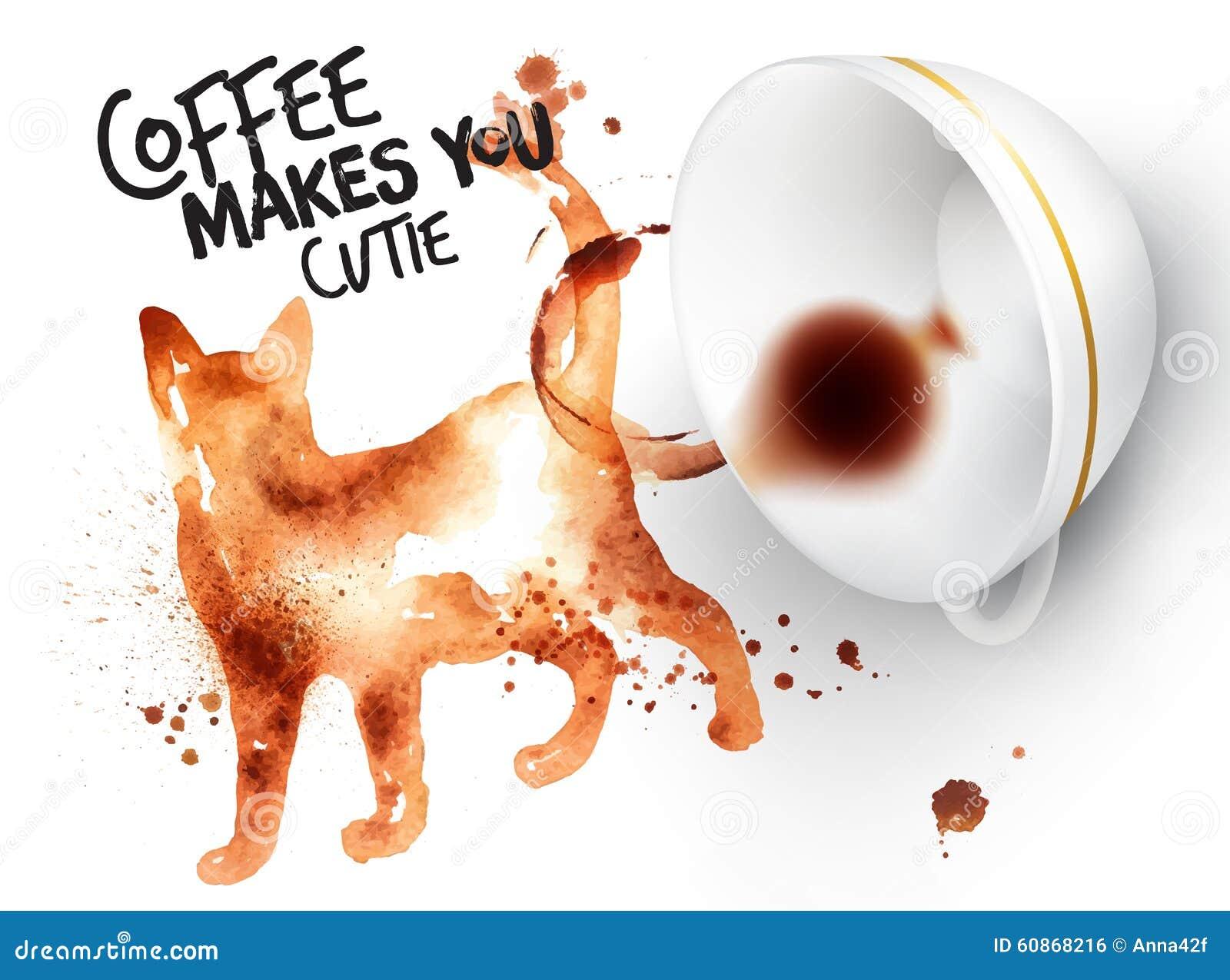 Коты кофе картинки