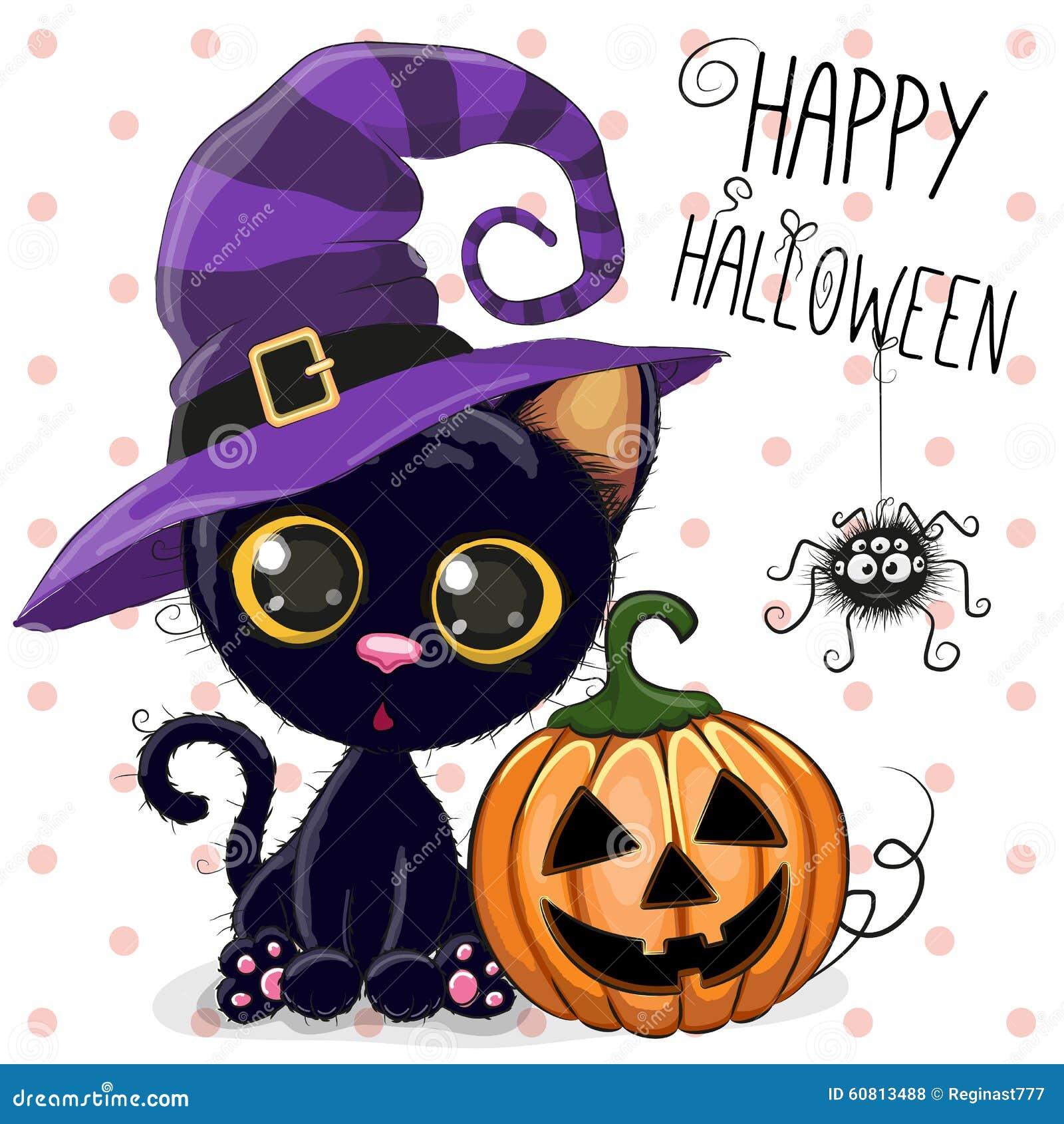 Кот хеллоуина