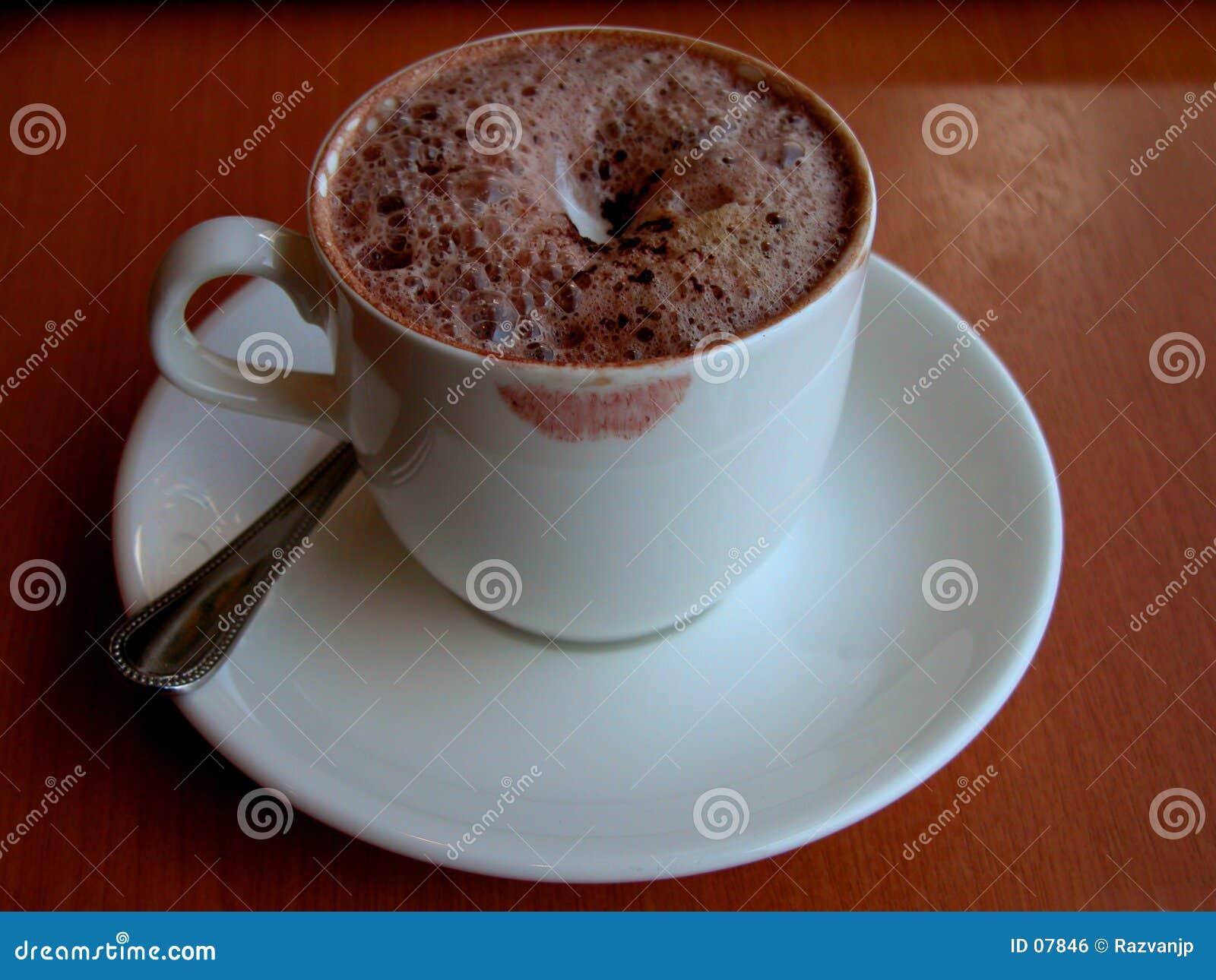кофейная чашка она