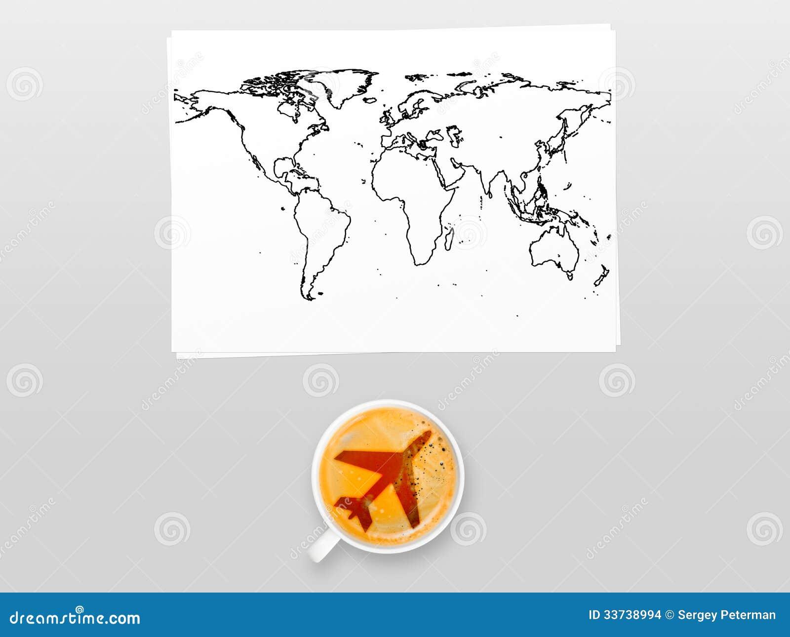 Кофе авиапорта