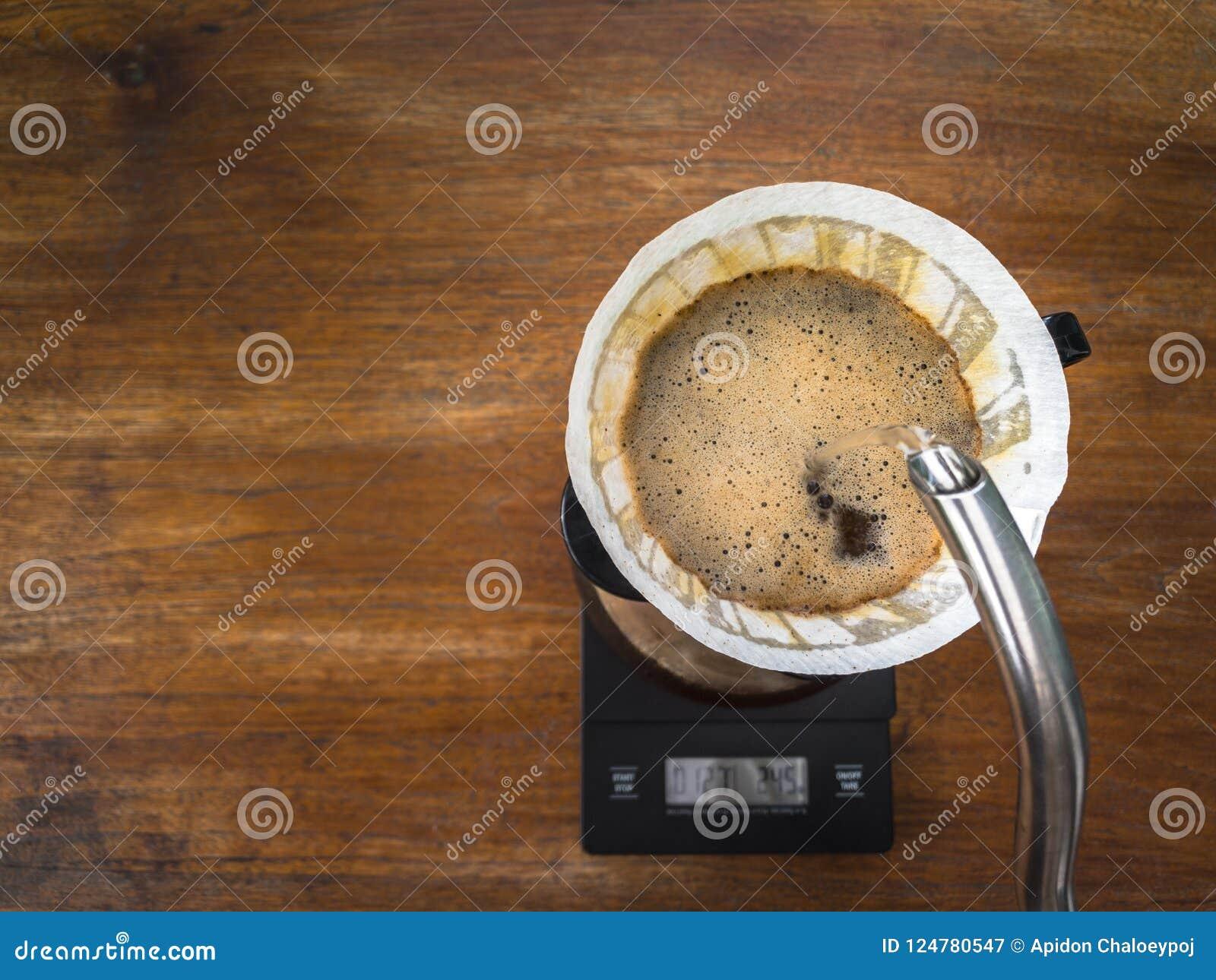 Кофе руки лить, метод заваривать кофе