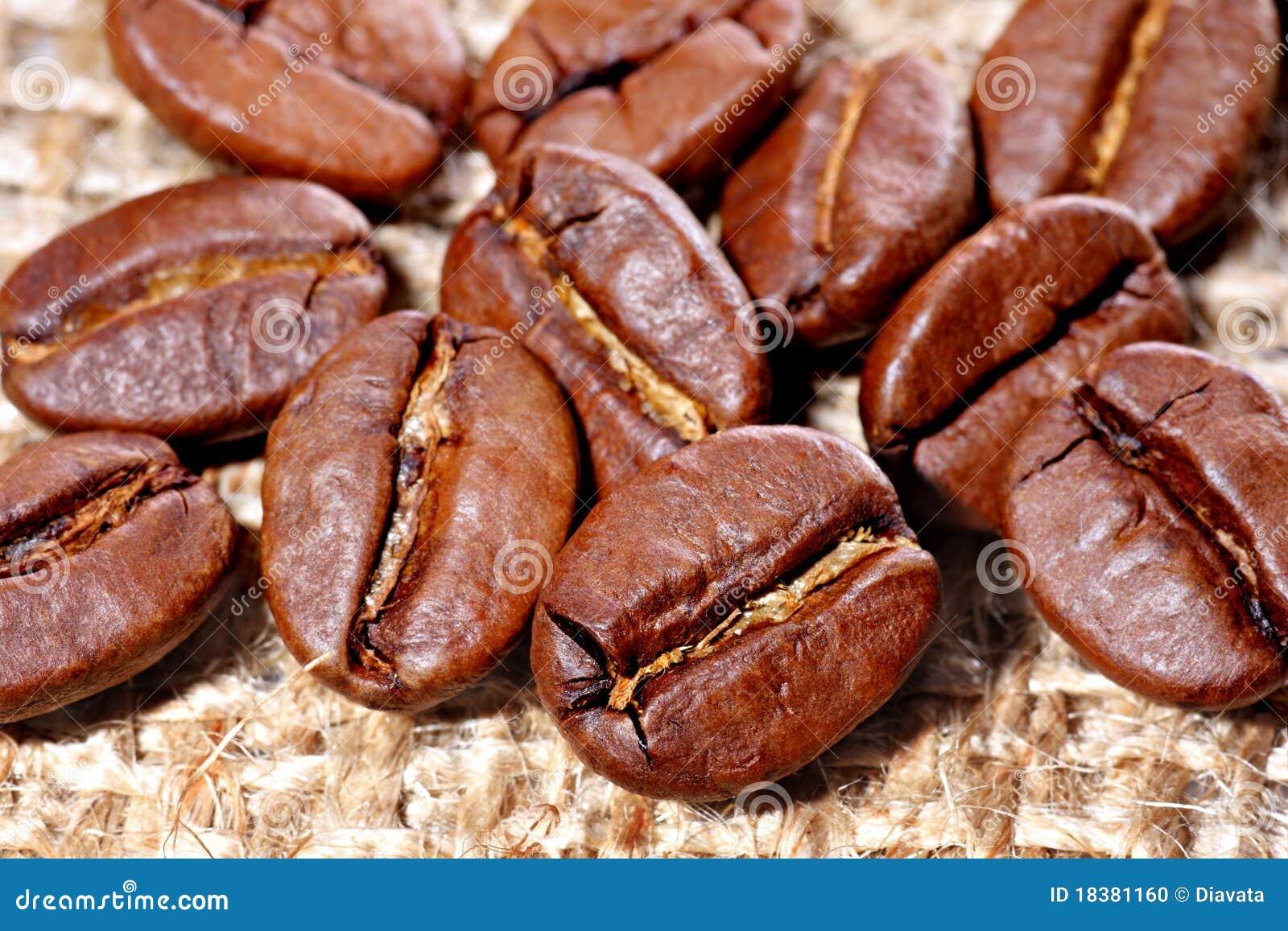 кофе холстины мешковины фасолей