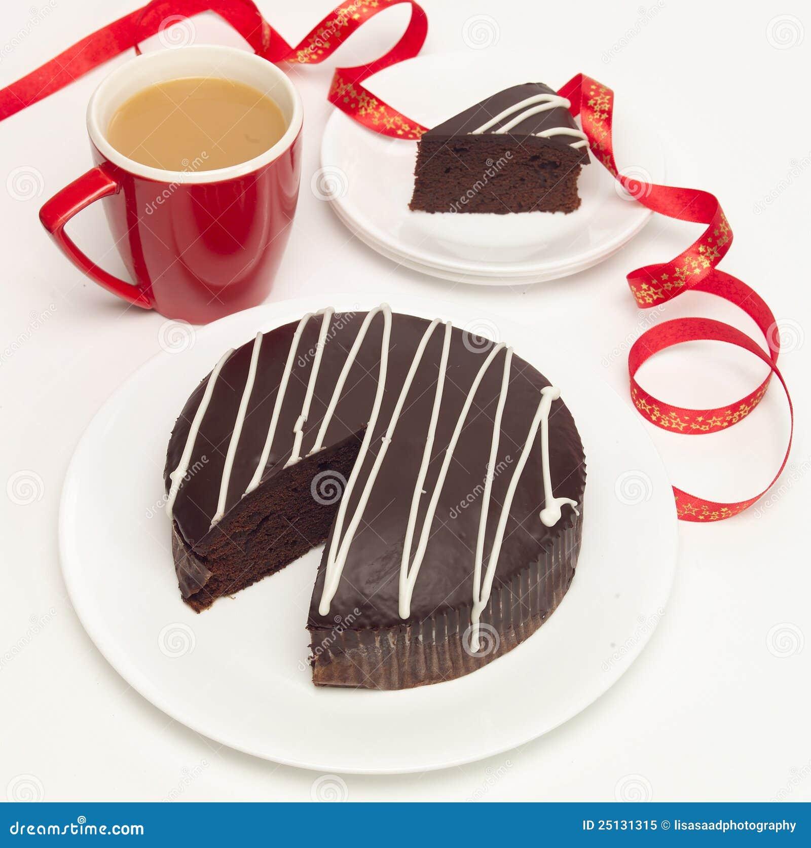 кофе шоколада торта