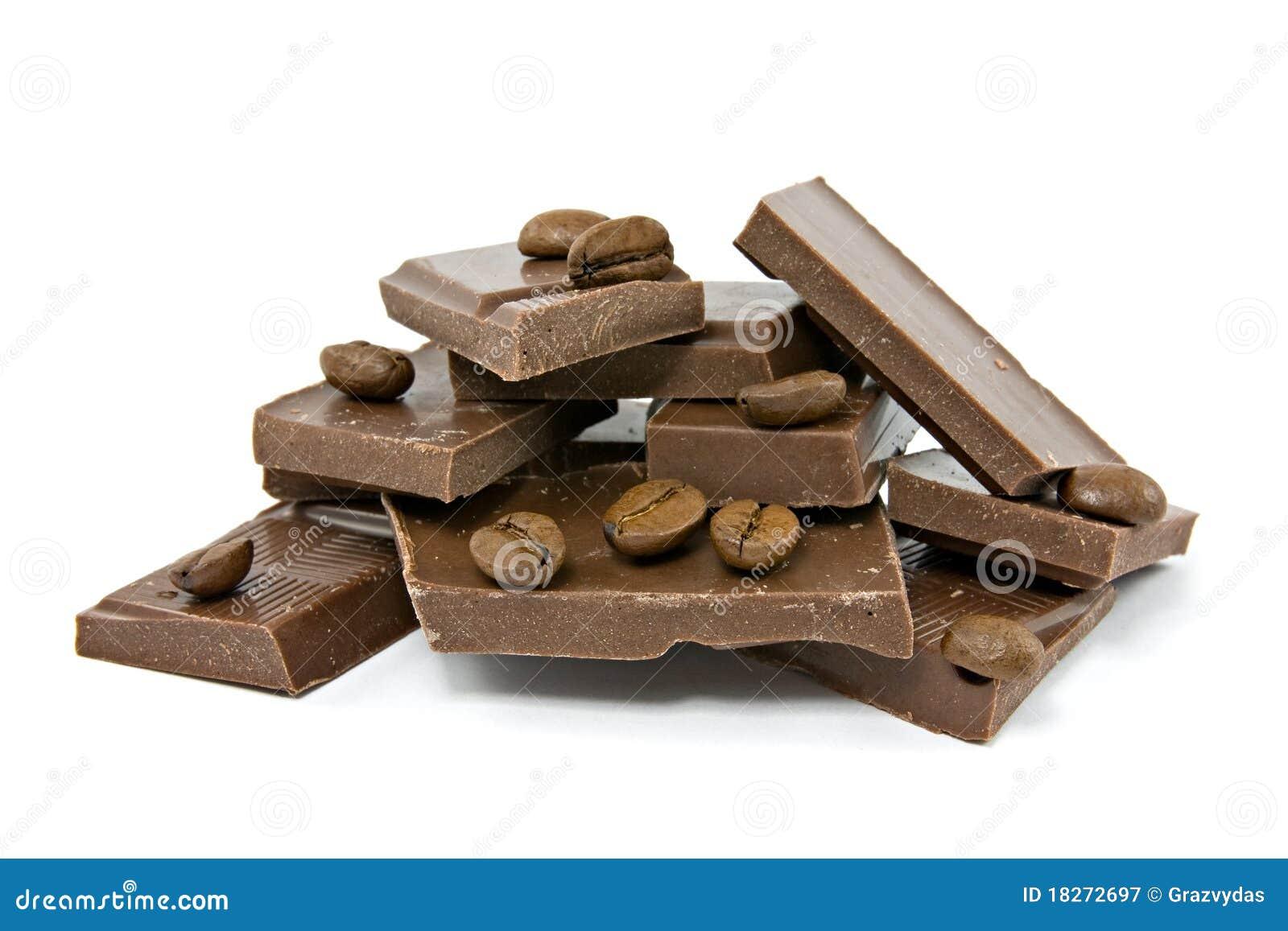 кофе шоколада фасолей