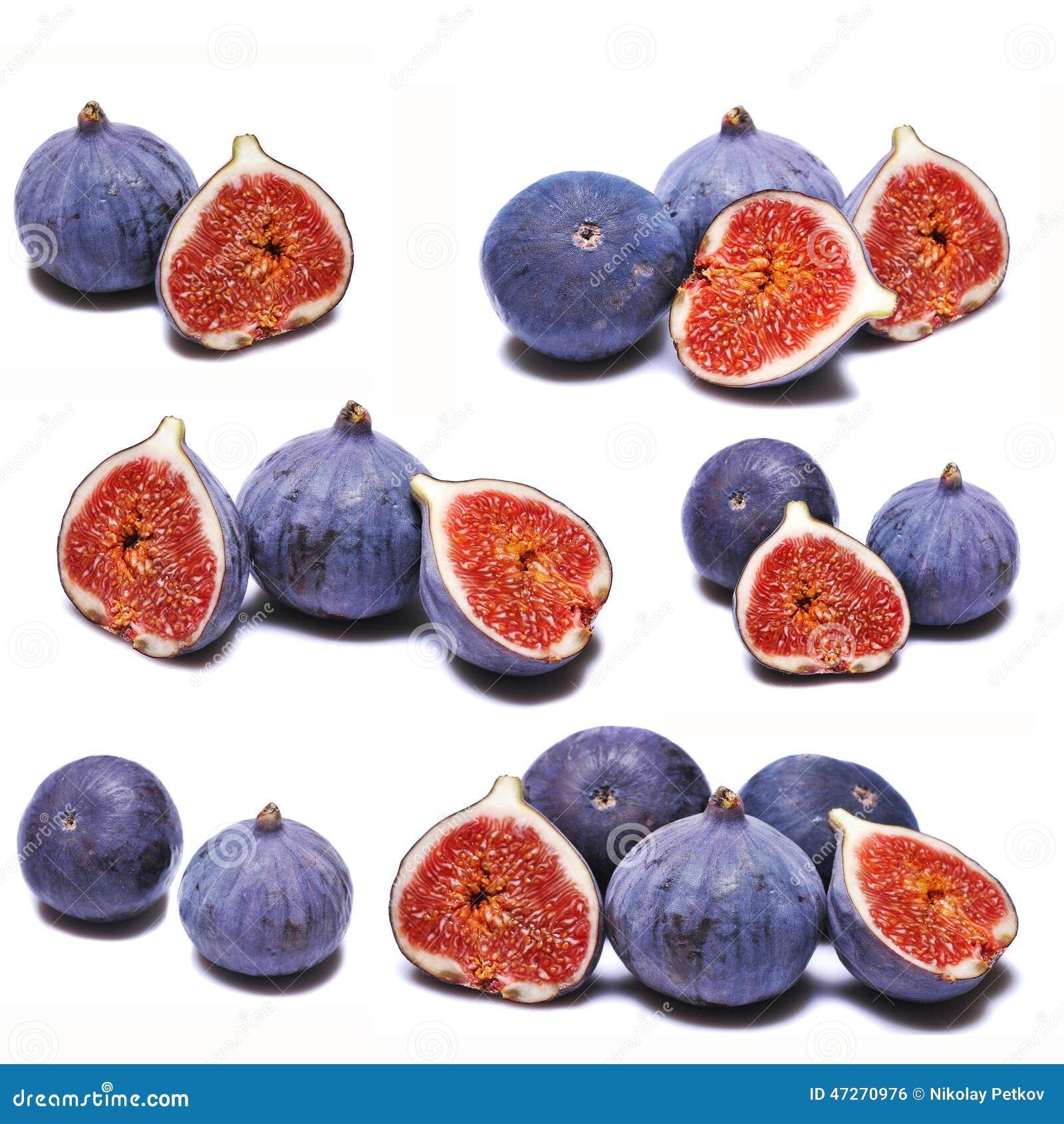 Коллаж свежих смокв