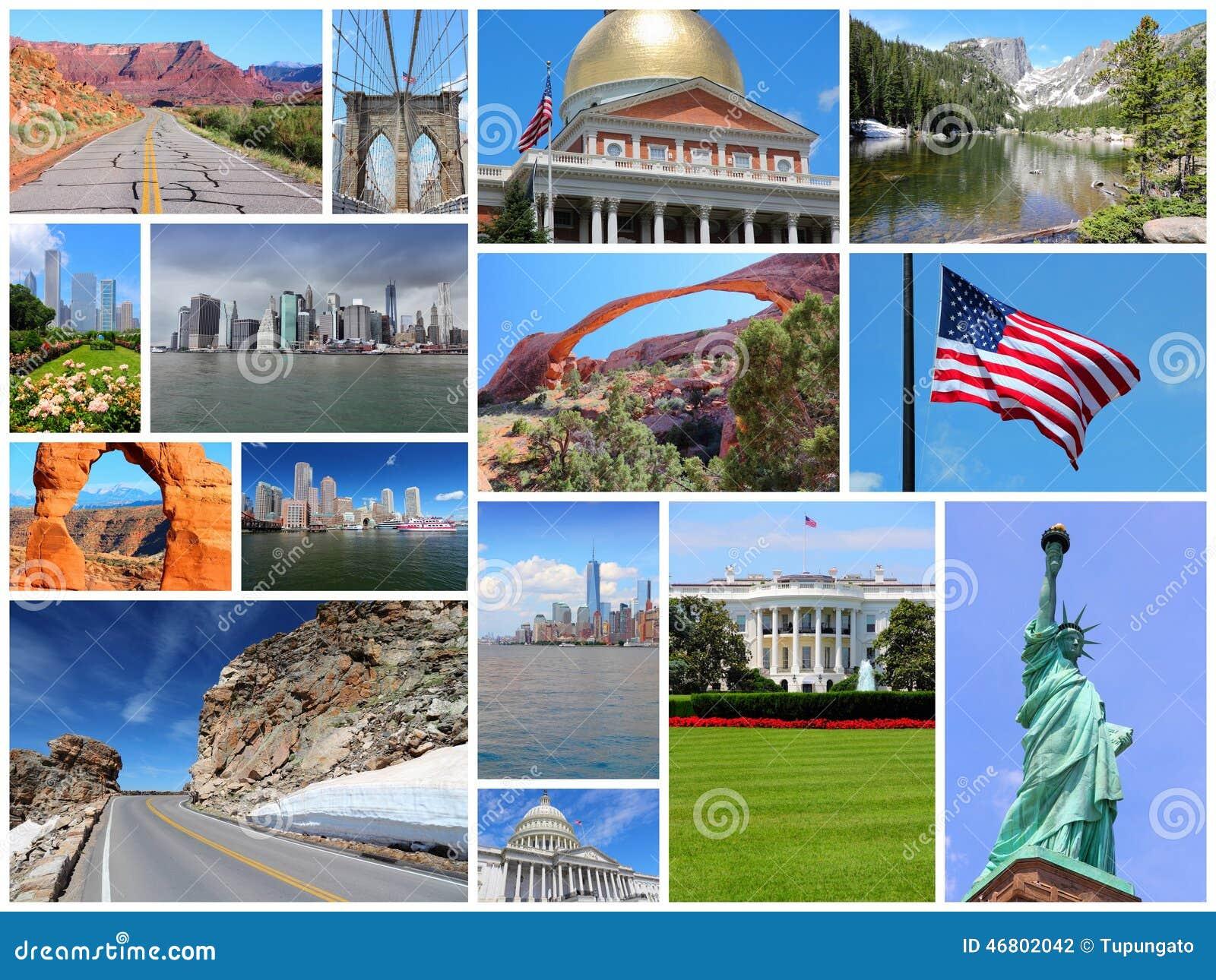 Коллаж Соединенных Штатов