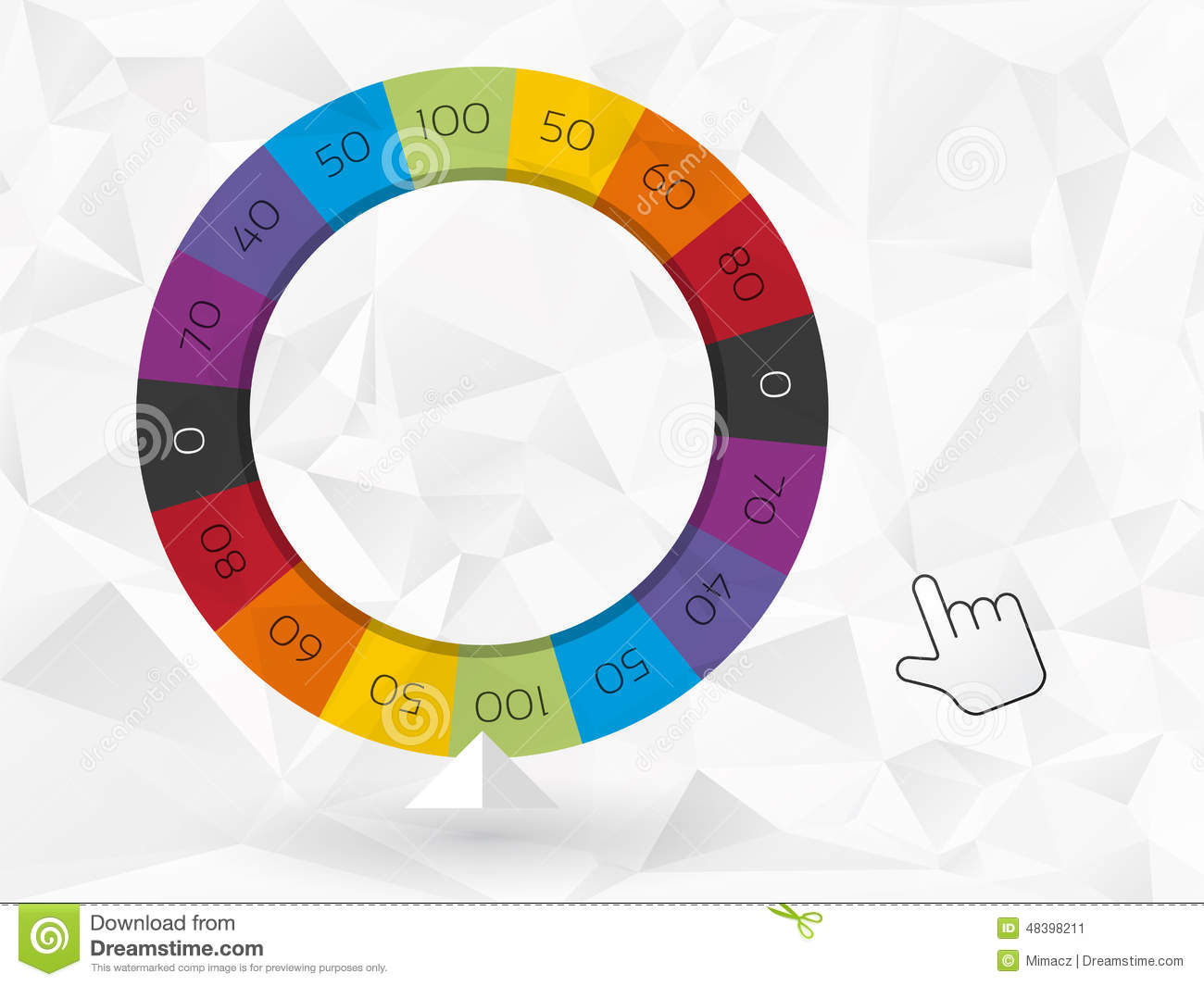 Wheel Of Fortune Powerpoint Template Free