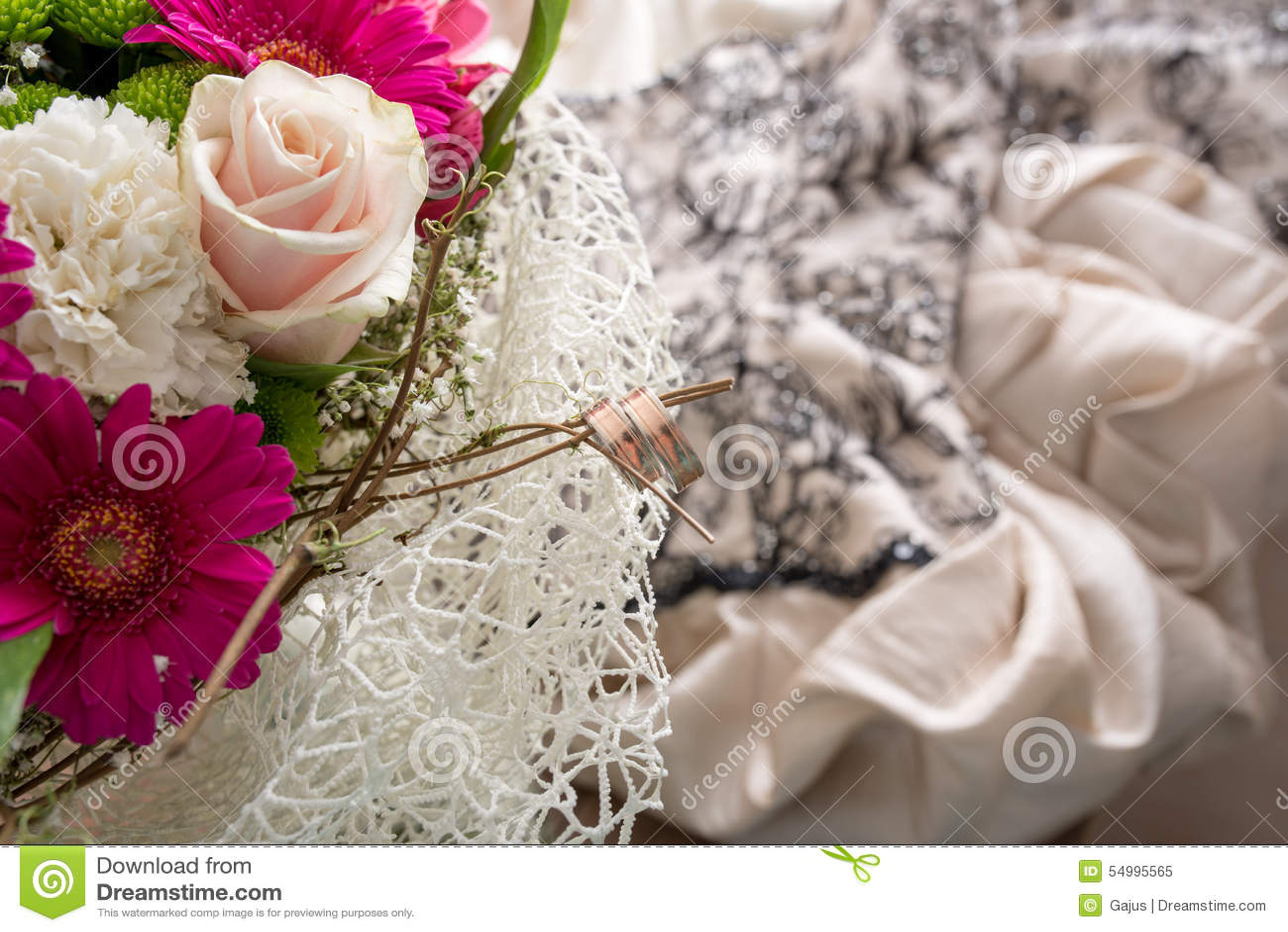 кольца букета bridal wedding