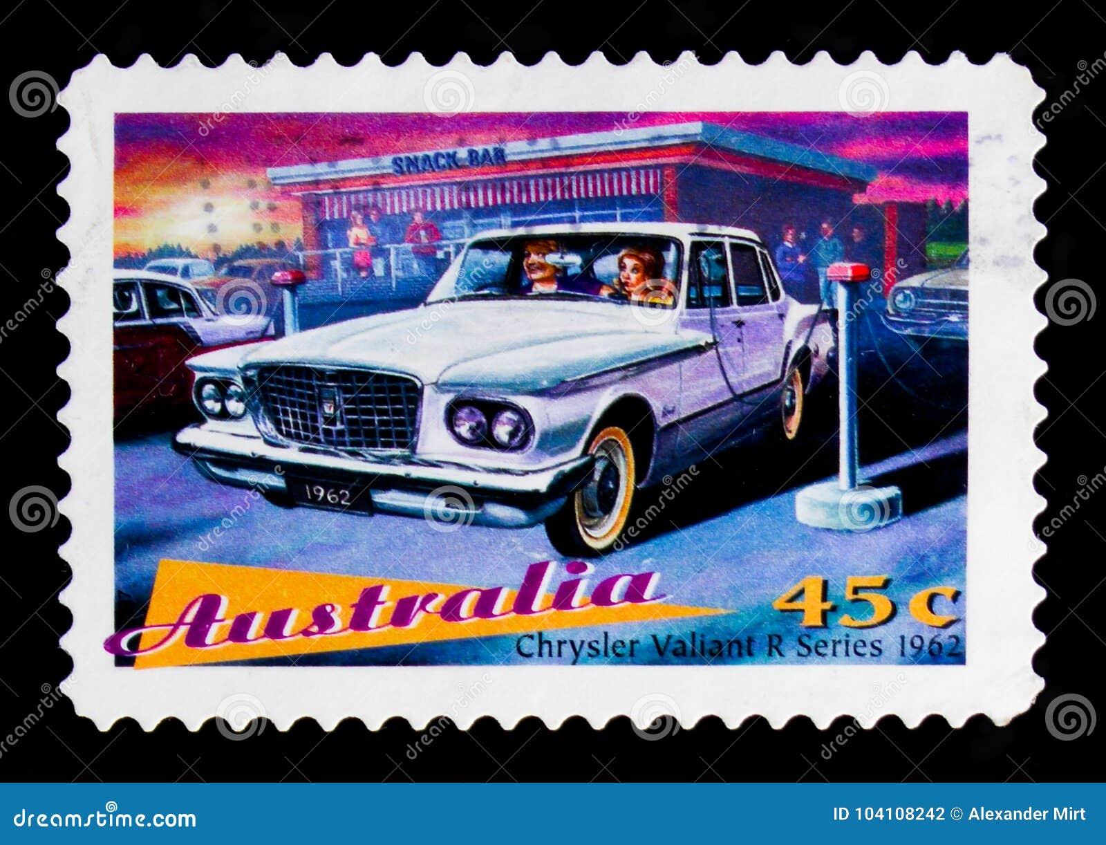 Крайслер молодецкое 1962, serie автомобилей ` s Австралии классическое, около 1997